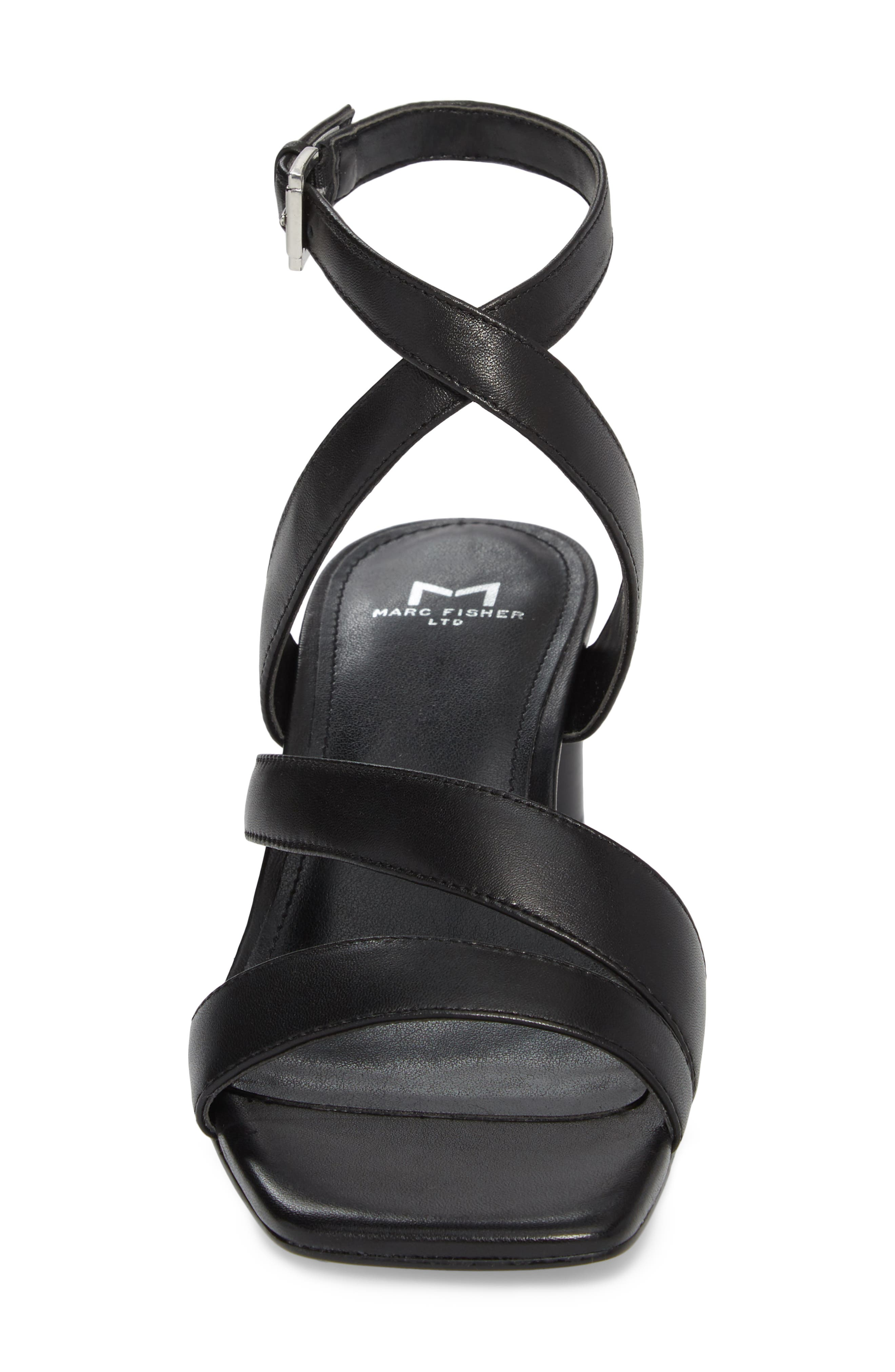 Marc Fischer LTD Idana Strappy Sandal,                             Alternate thumbnail 4, color,                             001