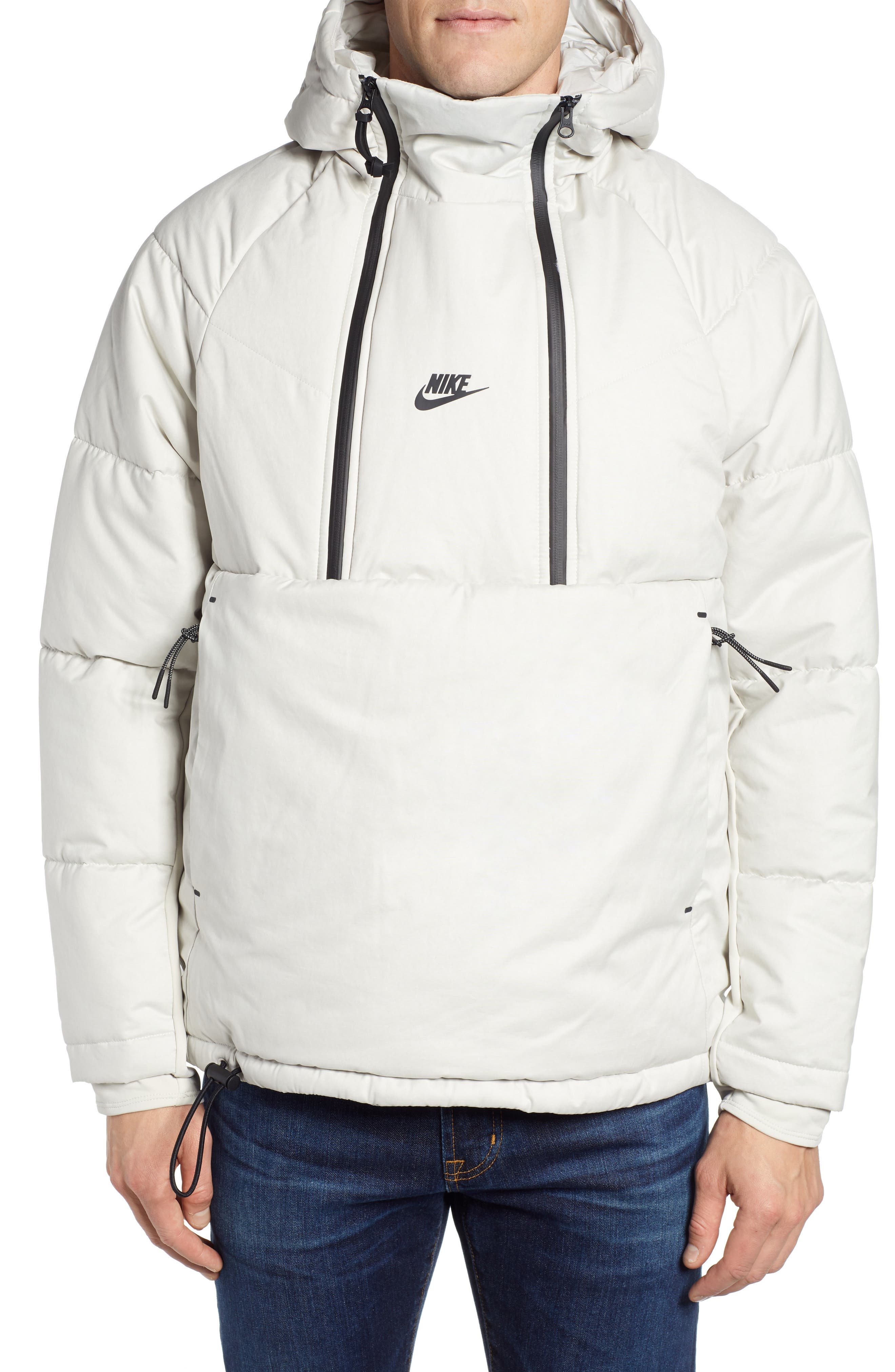 Nike Tech Pack Quilted Jacket Grey