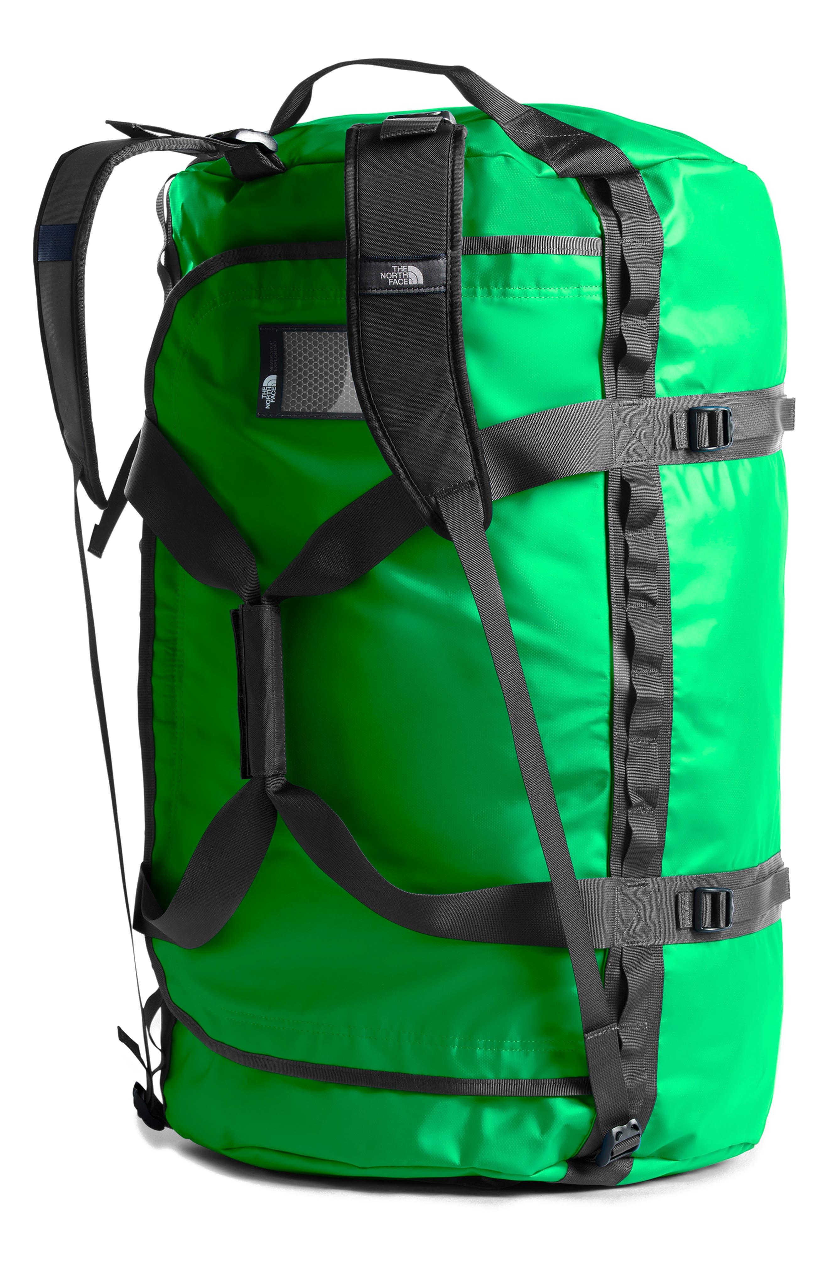 Base Camp XL Duffel Bag,                             Alternate thumbnail 2, color,                             GREEN/ ASPHALT GREY