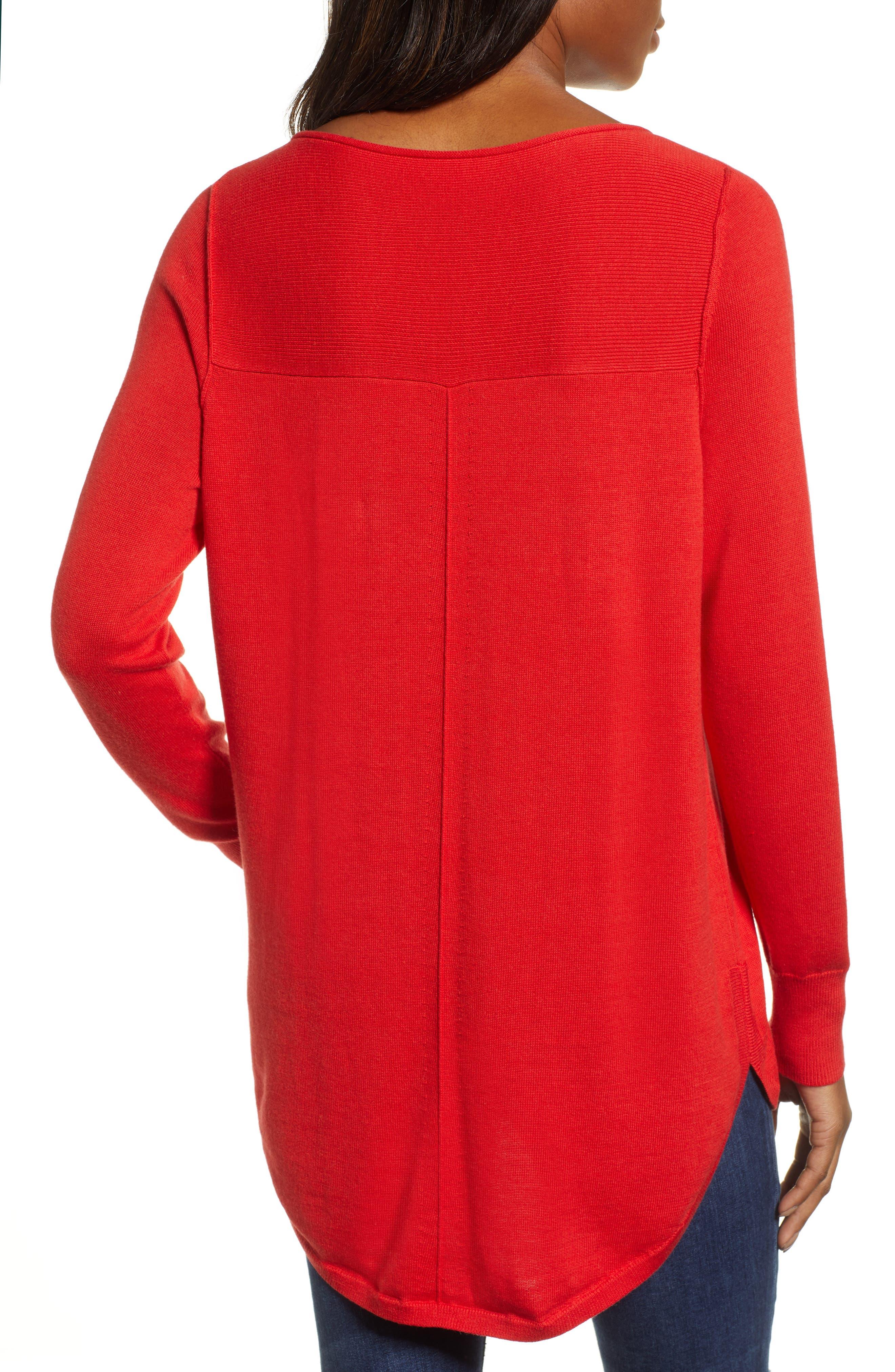 CASLON<SUP>®</SUP>,                             Seam Detail Shirttail Tunic,                             Alternate thumbnail 2, color,                             610
