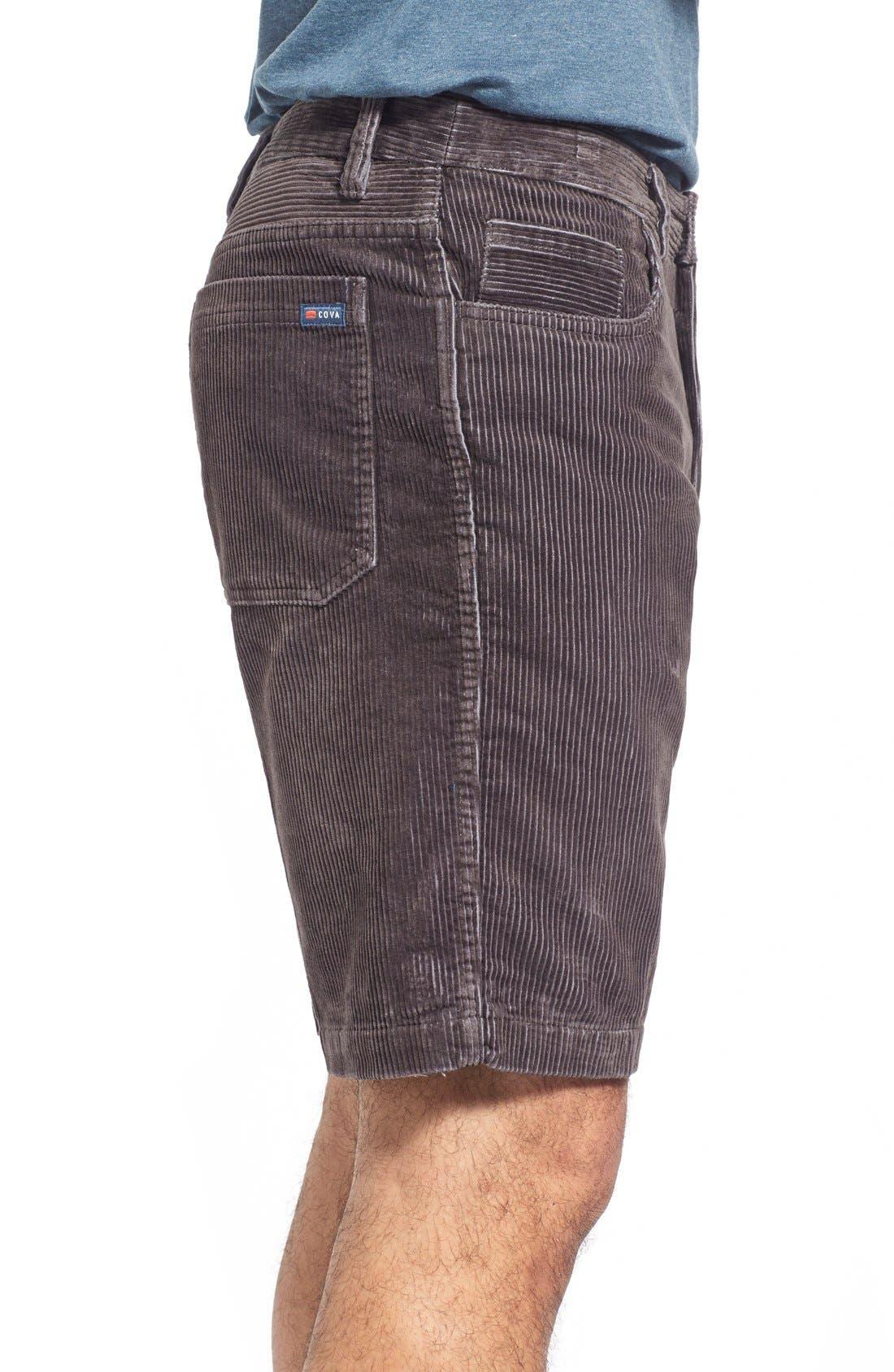 Kordo Corduroy Walking Shorts,                             Alternate thumbnail 6, color,