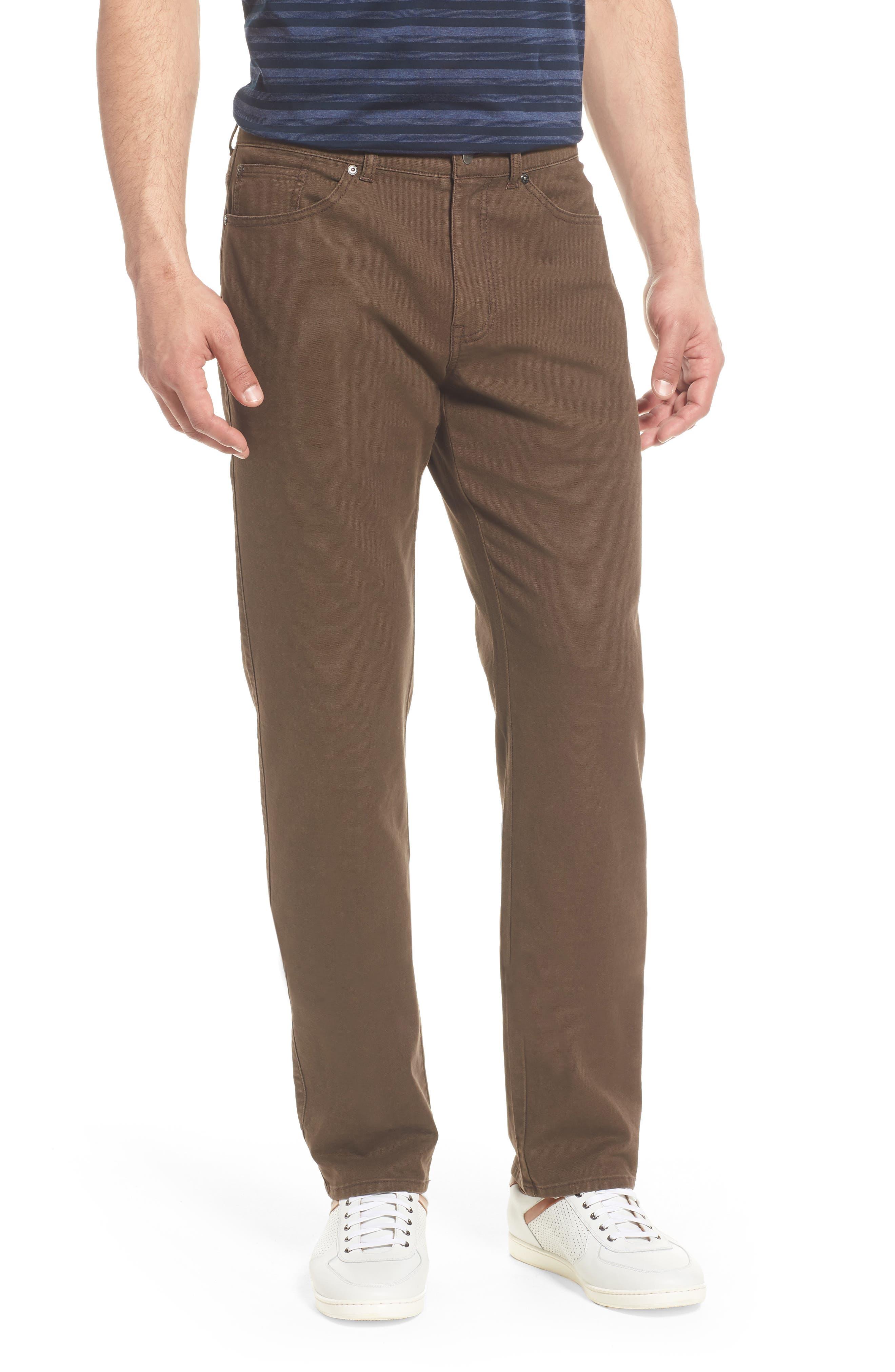 Crown Vintage Canvas Pants,                         Main,                         color, CANOPY BROWN