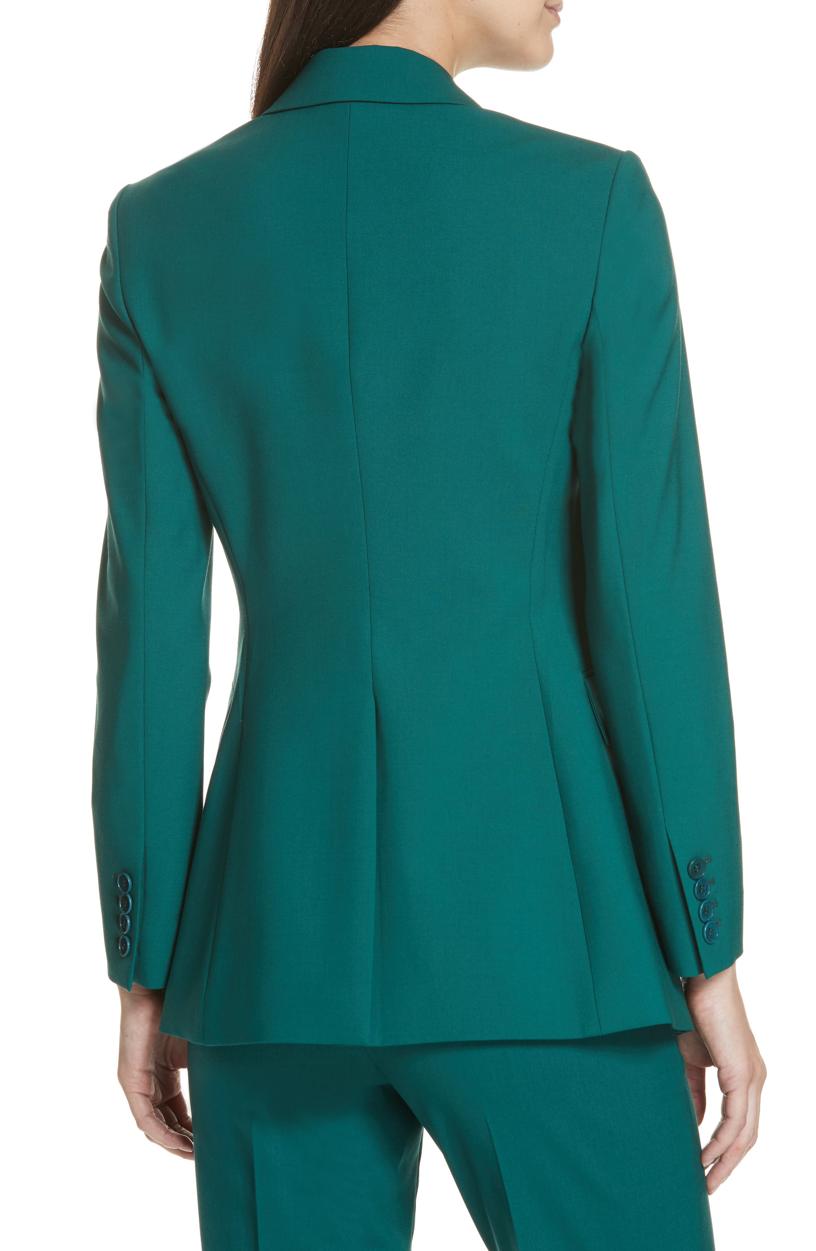 Etienette B Good Wool Suit Jacket,                             Alternate thumbnail 10, color,