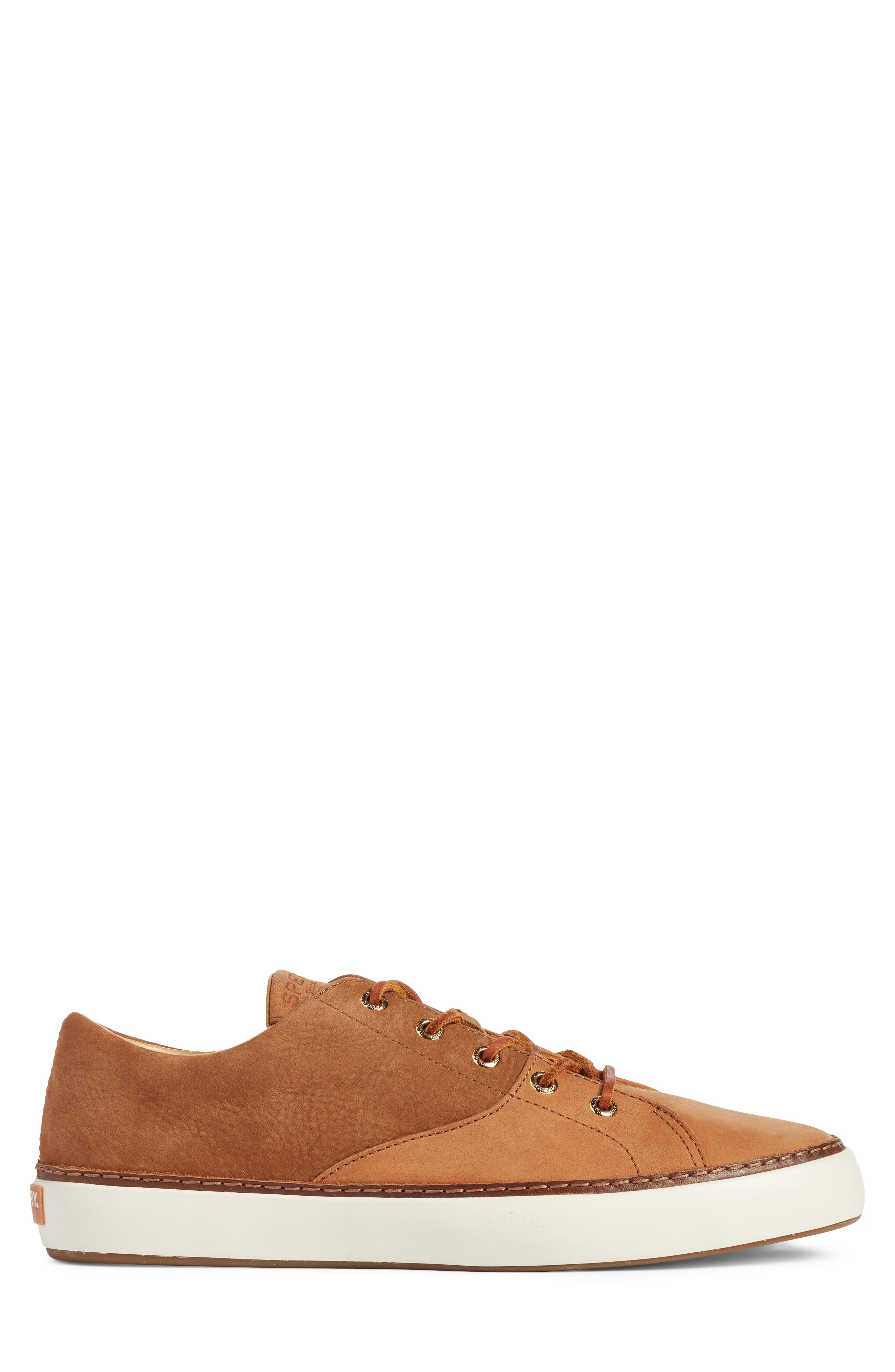 Gold Cup Haven Sneaker,                             Alternate thumbnail 3, color,                             TAN LEATHER