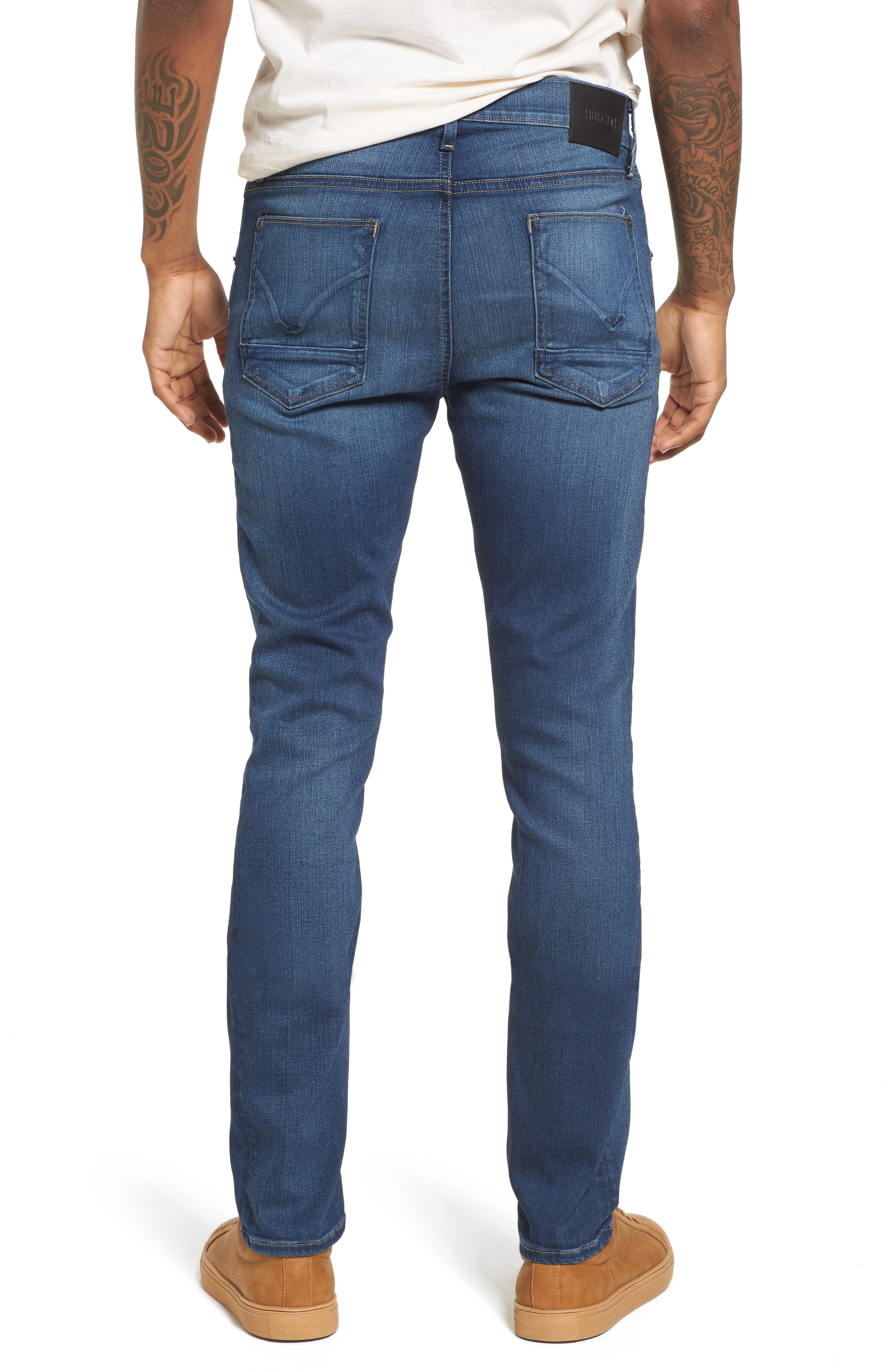 Hudson Blake Slim Fit Jeans,                             Alternate thumbnail 2, color,