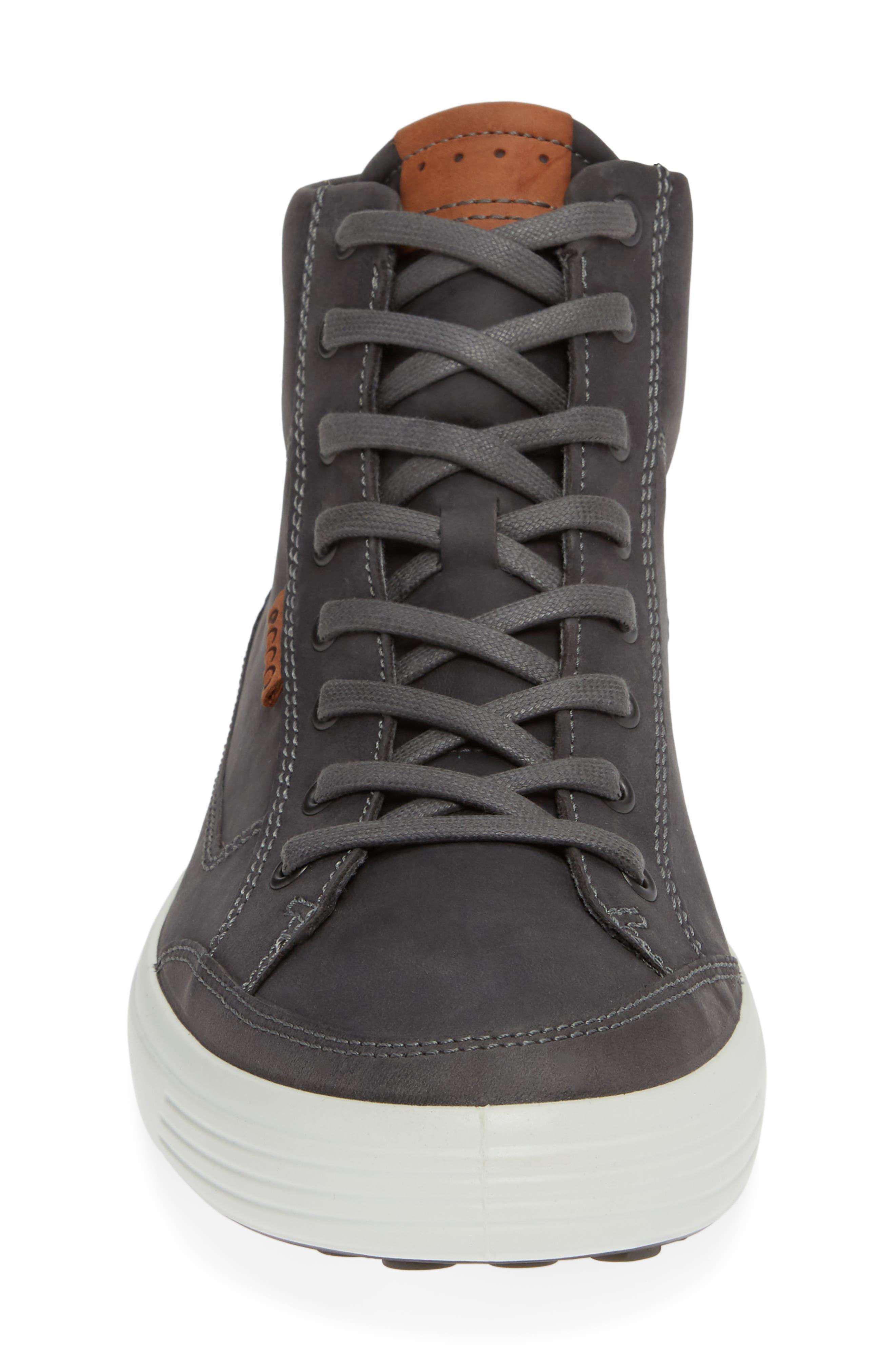 Soft 7 Sneaker,                             Alternate thumbnail 4, color,                             TITANIUM LEATHER