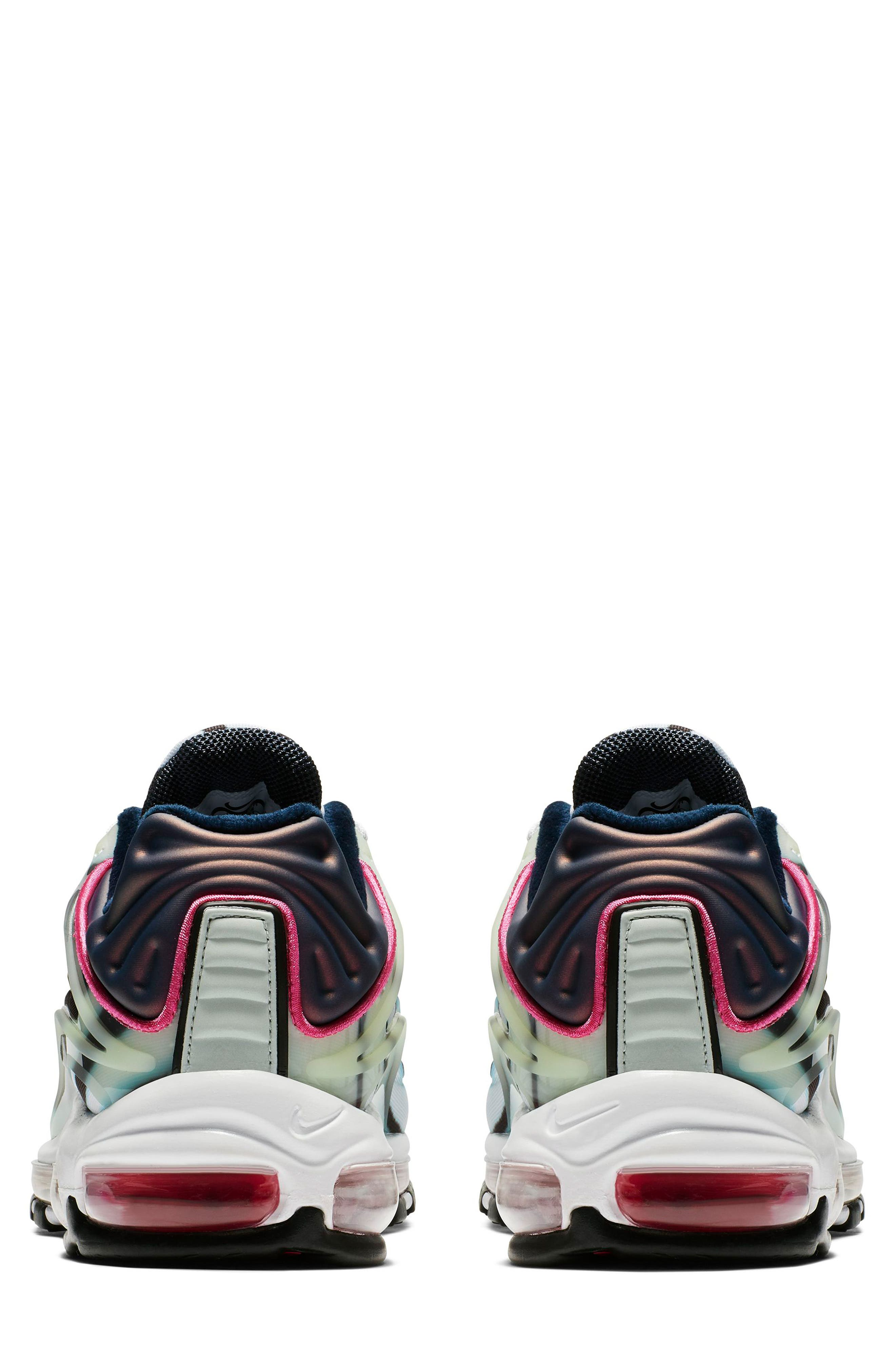 Air Max Deluxe Sneaker,                             Alternate thumbnail 2, color,                             GREEN/ SILVER/ OBSIDIAN/ BLACK