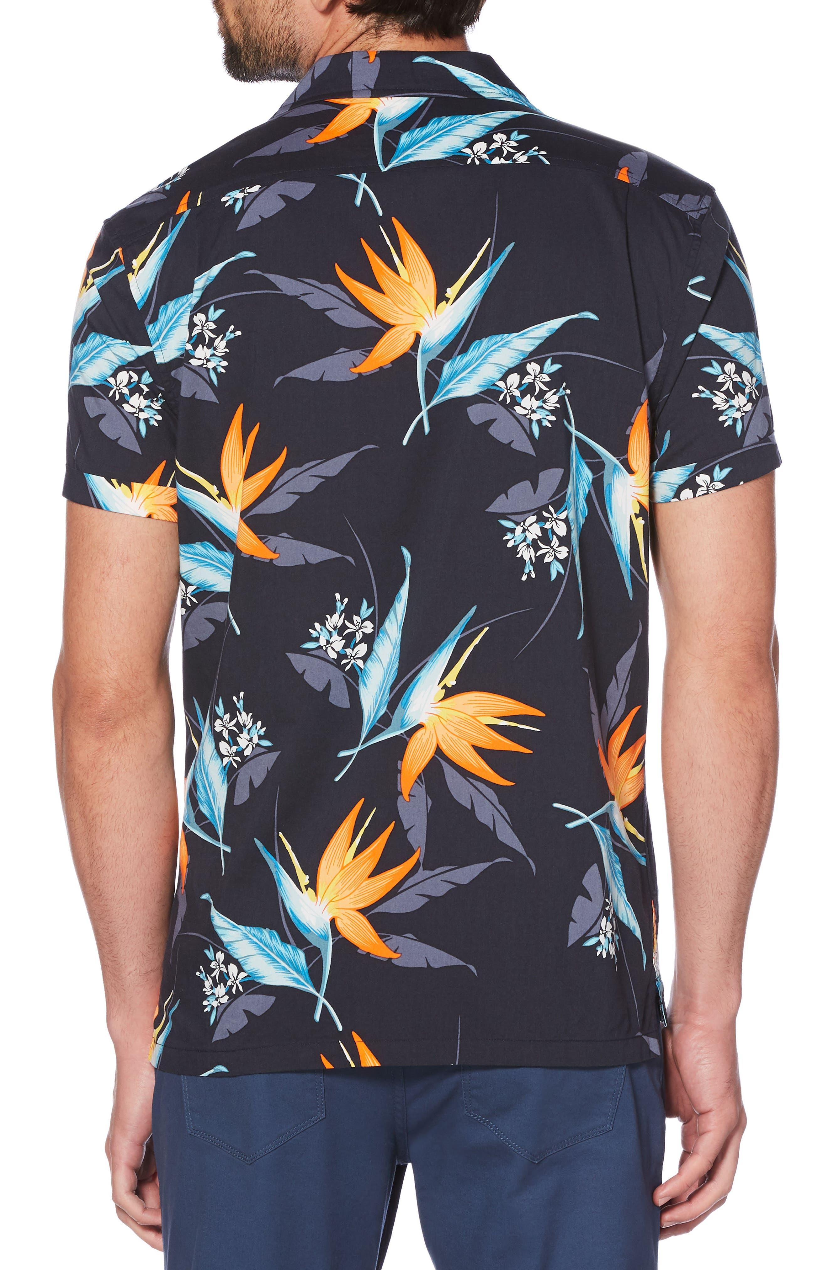 Tropical Floral Shirt,                             Alternate thumbnail 2, color,                             413