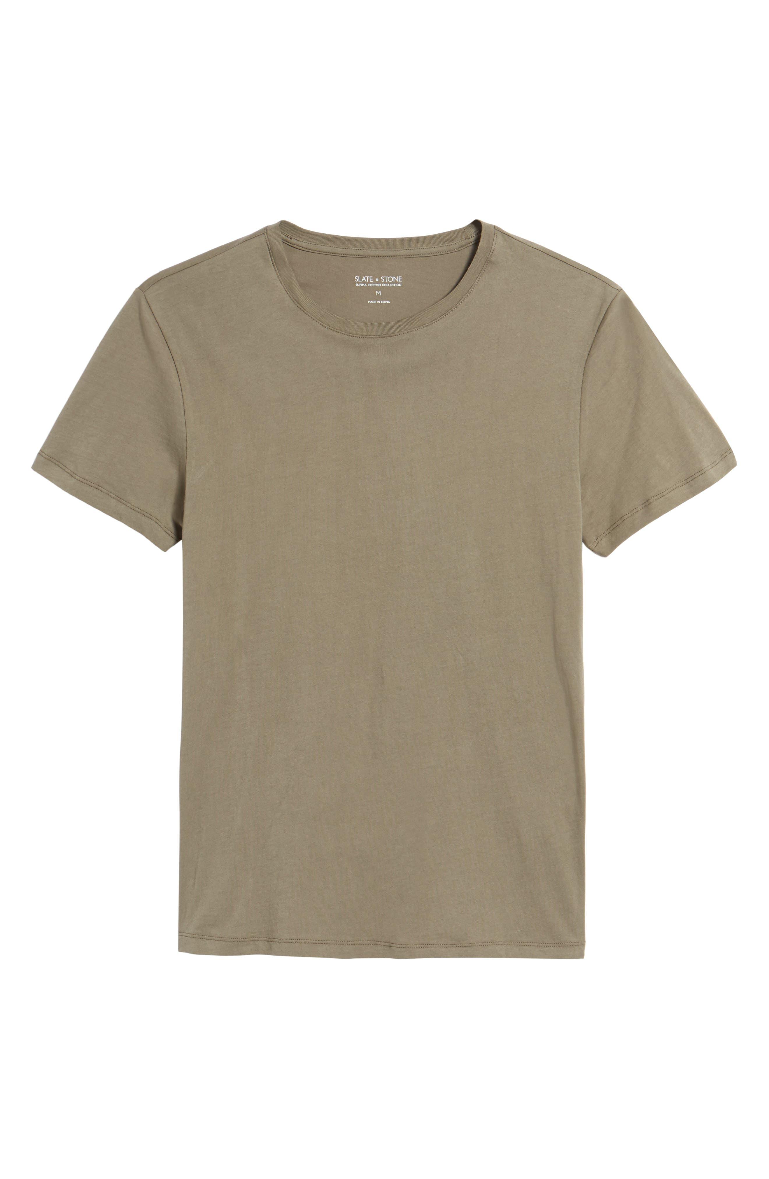 Solid T-Shirt,                             Alternate thumbnail 17, color,