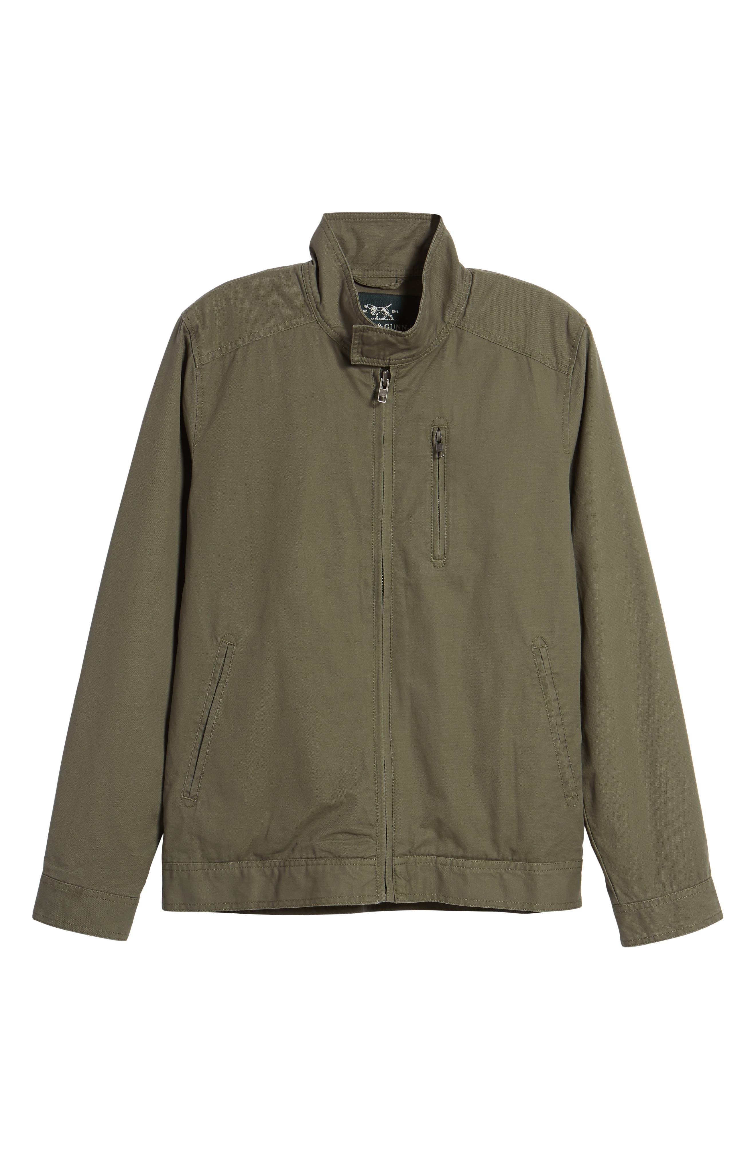 'Armitage' Harrington Jacket,                             Alternate thumbnail 5, color,                             OLIVE