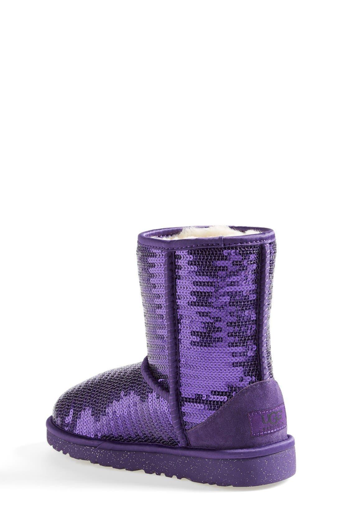 'Classic Short Sparkle' Boot,                             Alternate thumbnail 9, color,