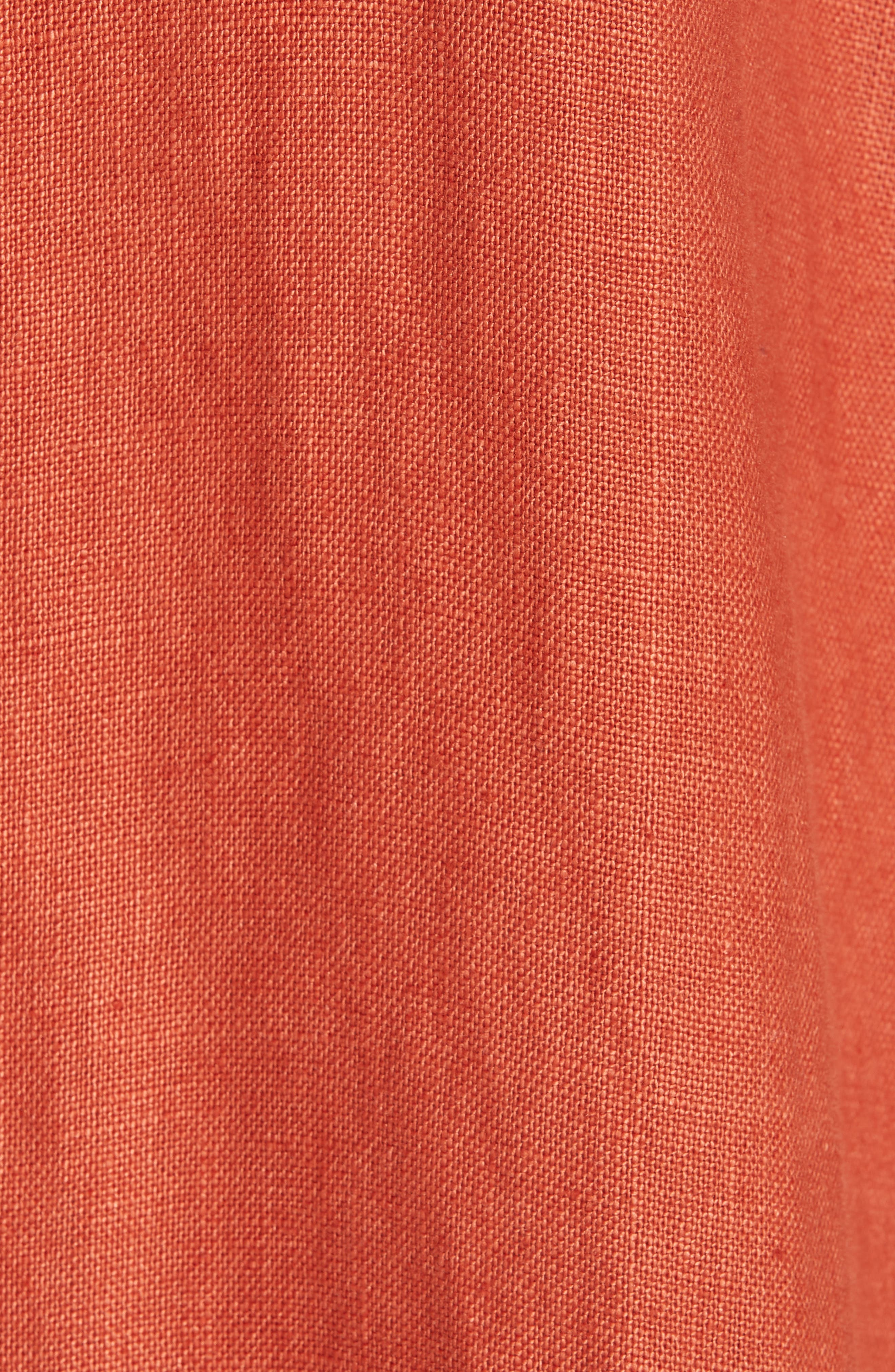 Organic Linen Trench Coat,                             Alternate thumbnail 6, color,                             822