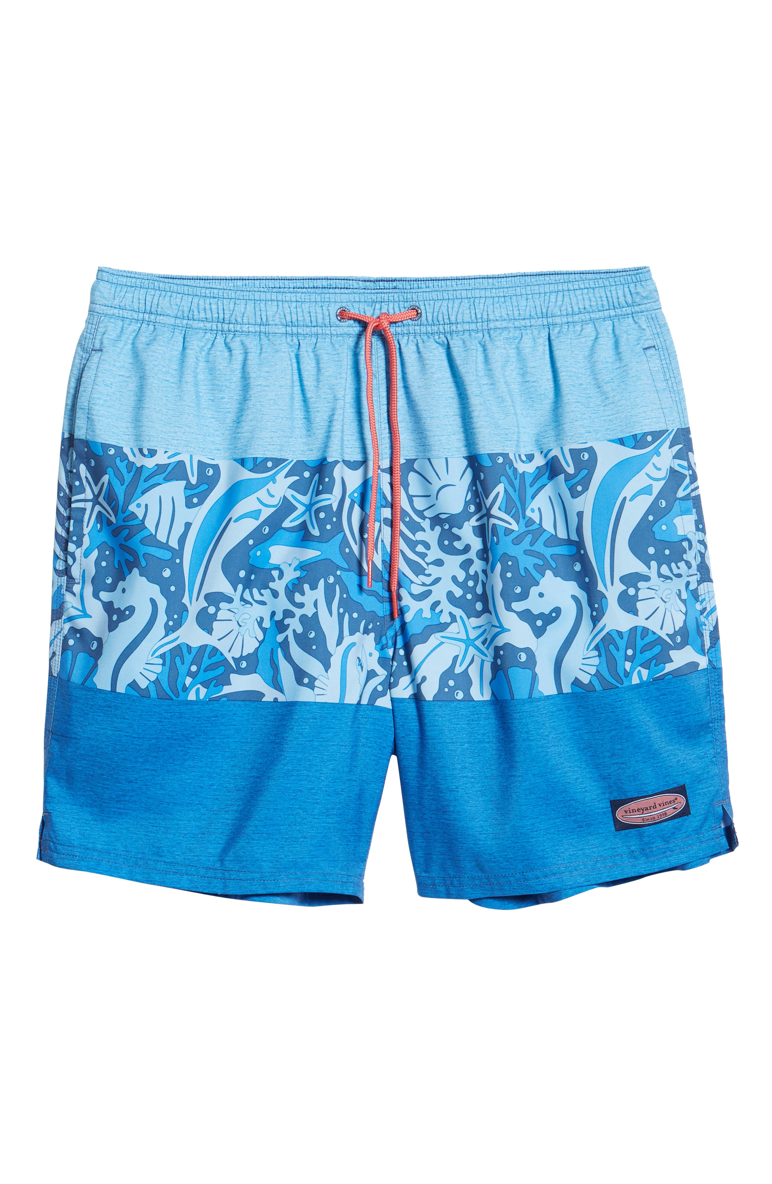 Under the Water Chappy Swim Trunks,                             Alternate thumbnail 6, color,                             MOONSHINE