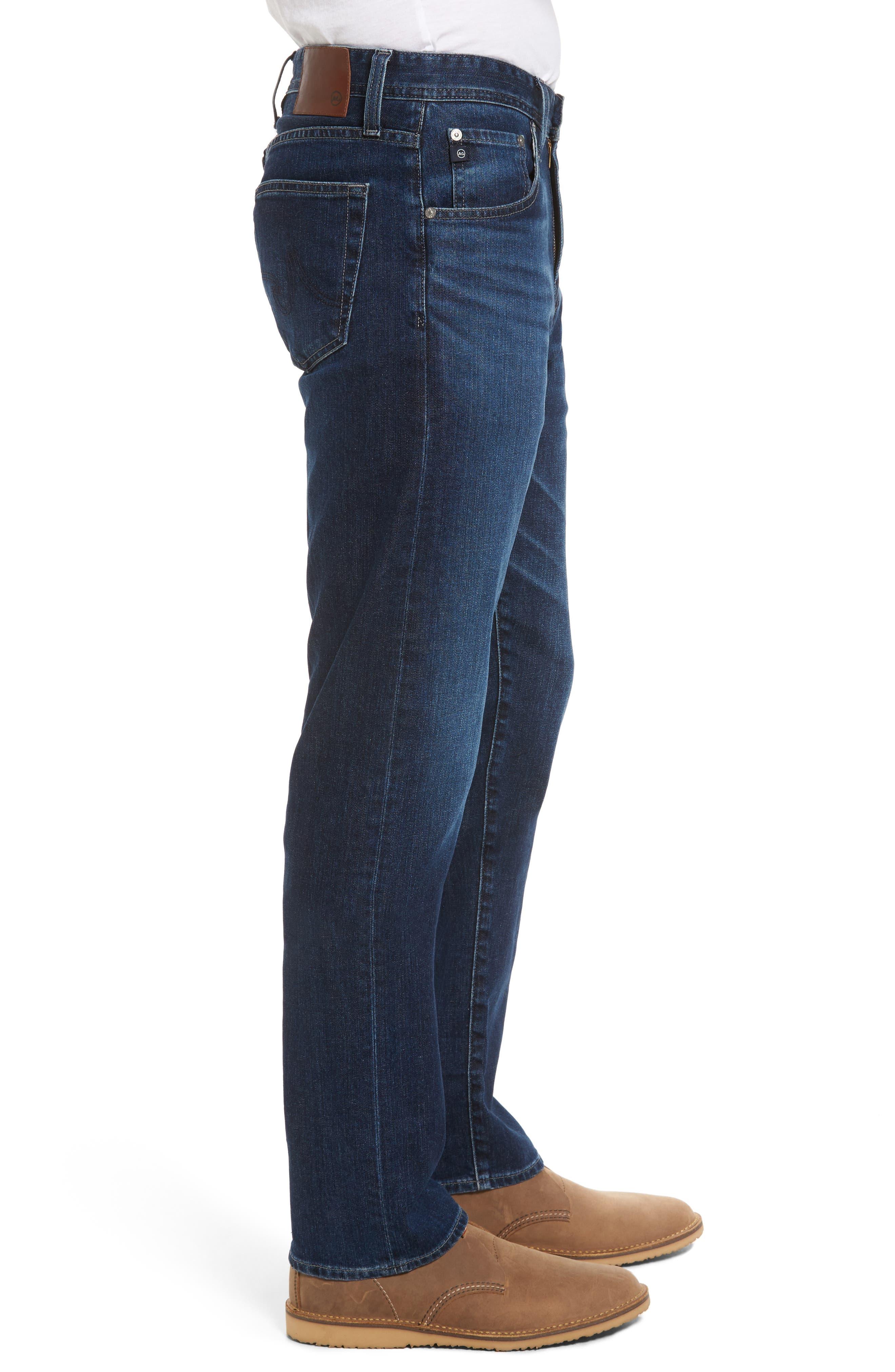 Ives Straight Leg Jeans,                             Alternate thumbnail 3, color,                             438