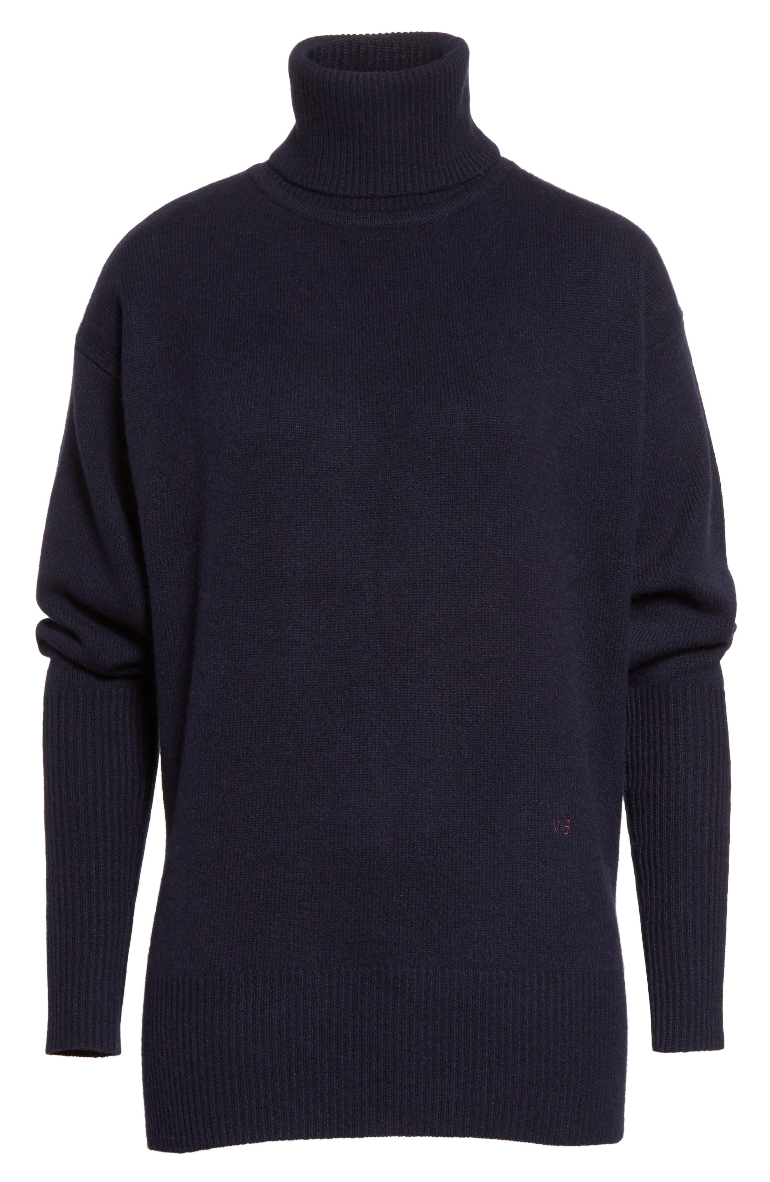 Cashmere Turtleneck Sweater,                             Alternate thumbnail 6, color,                             400