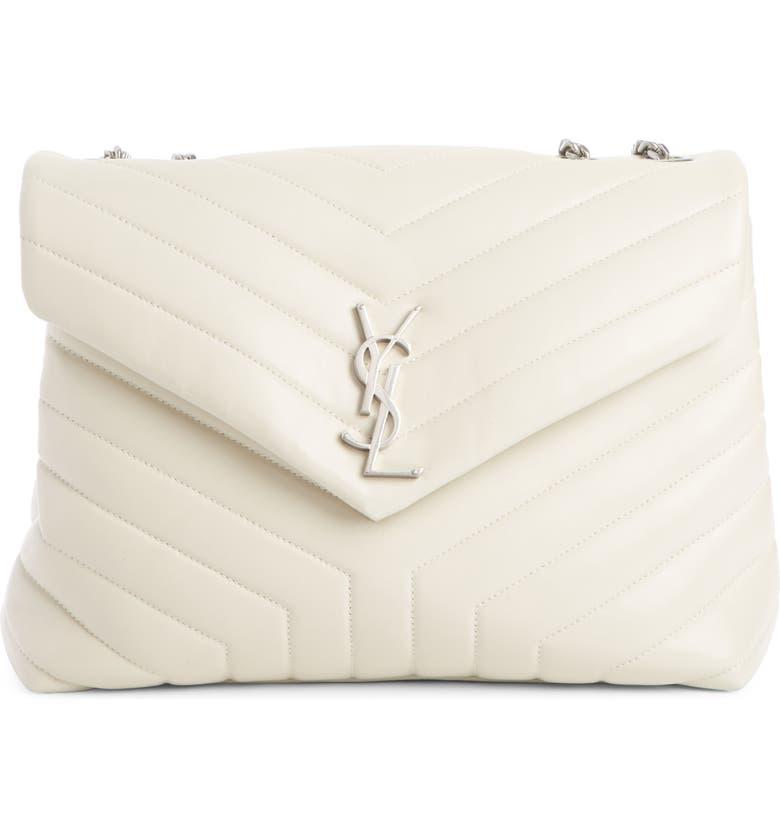 2d74b58de432 Saint Laurent Medium Loulou Calfskin Leather Shoulder Bag