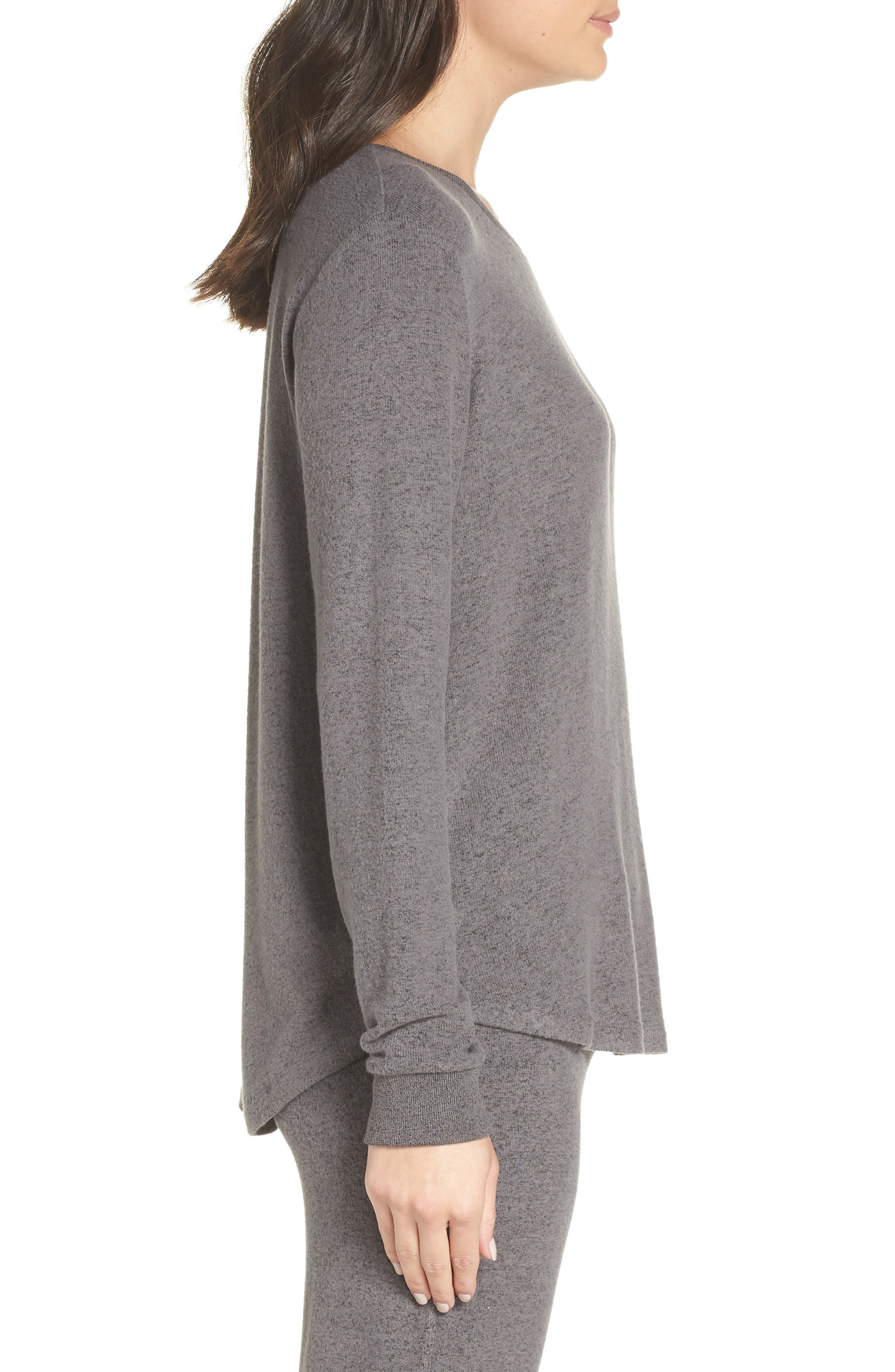 Too Cool Pullover,                             Alternate thumbnail 3, color,                             GREY PAVEMENT MARL