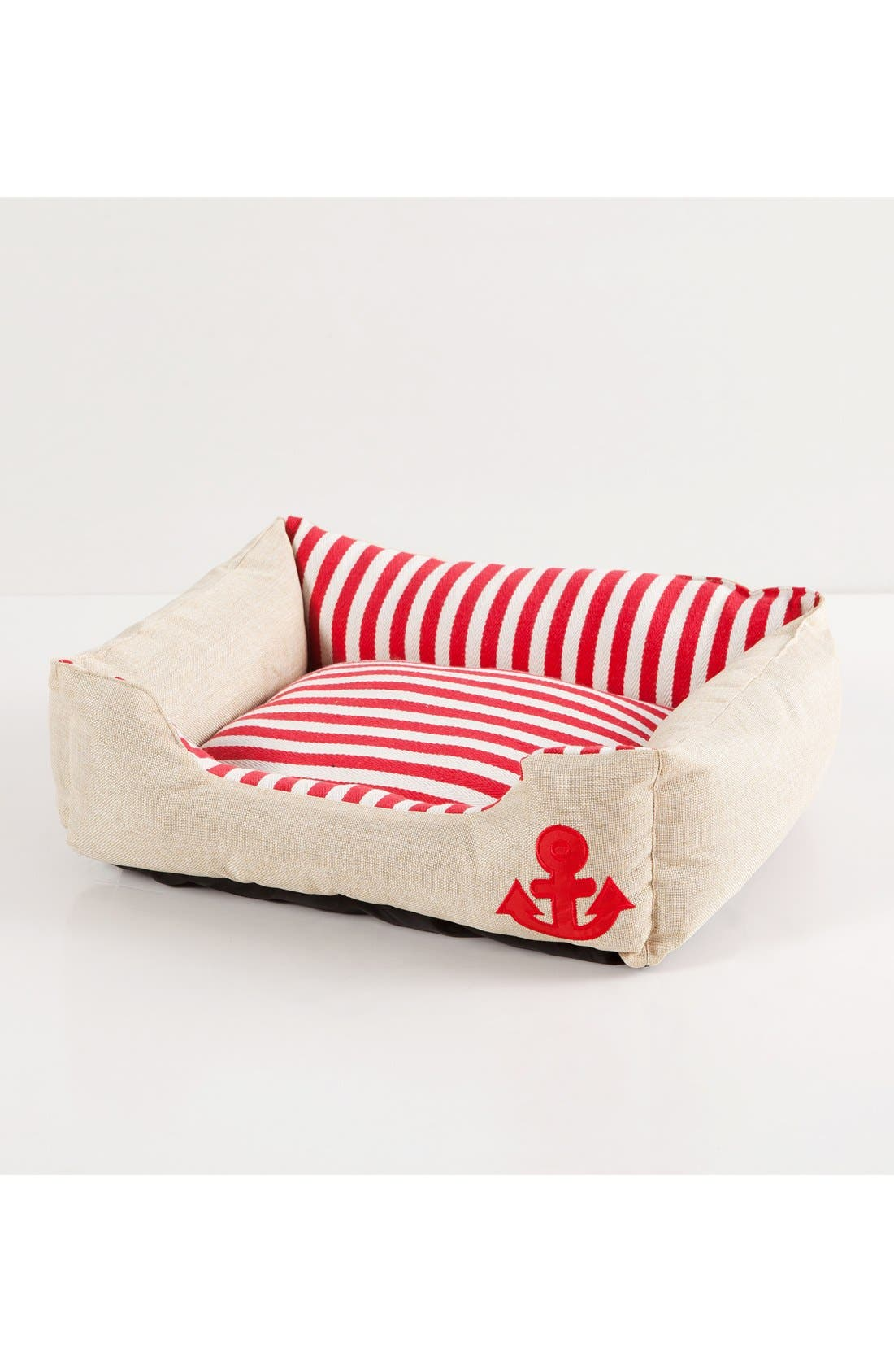 Everly Nautical Pet Bed,                             Alternate thumbnail 3, color,