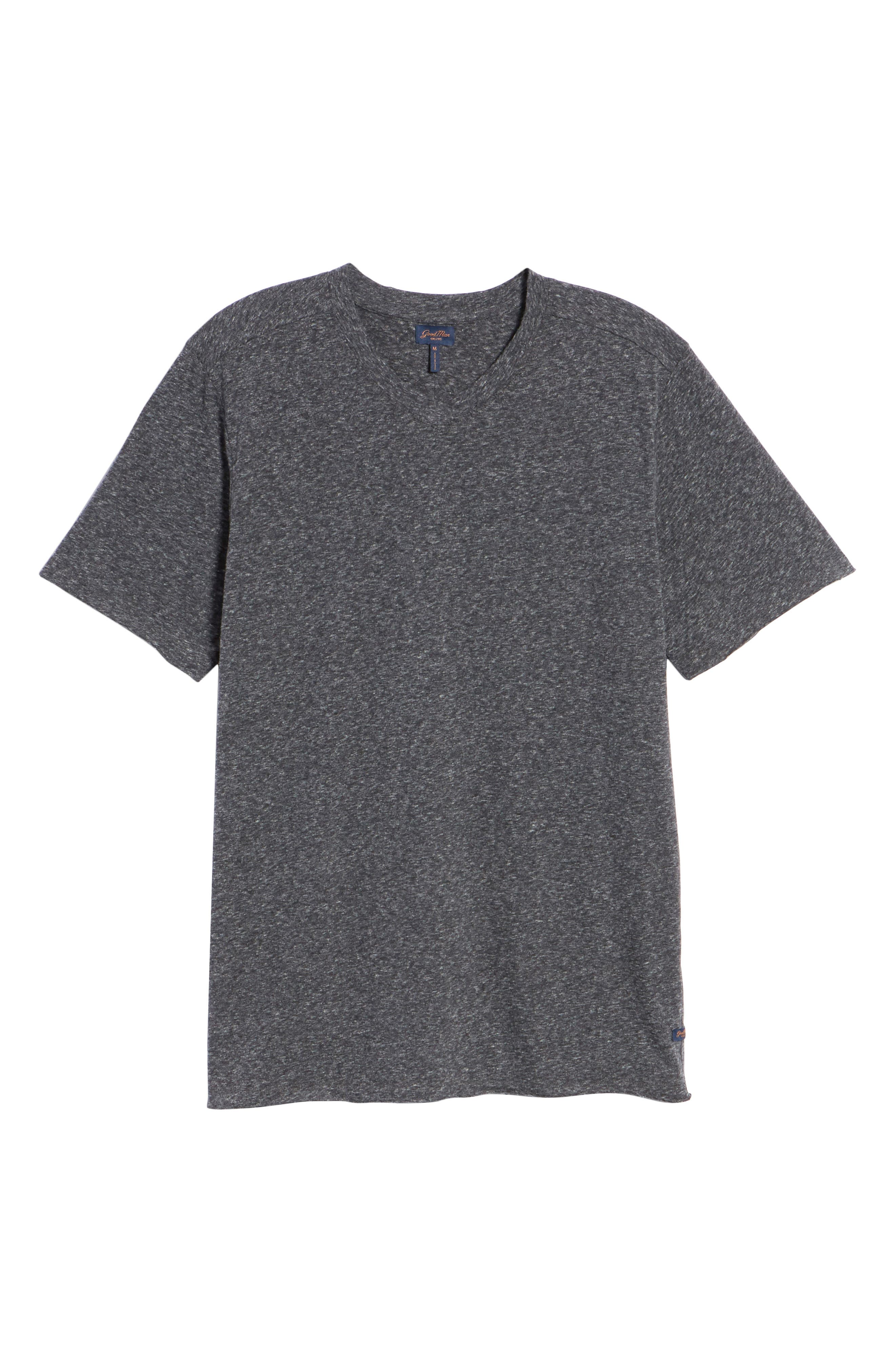 Slim Fit V-Neck T-Shirt,                             Alternate thumbnail 6, color,                             032