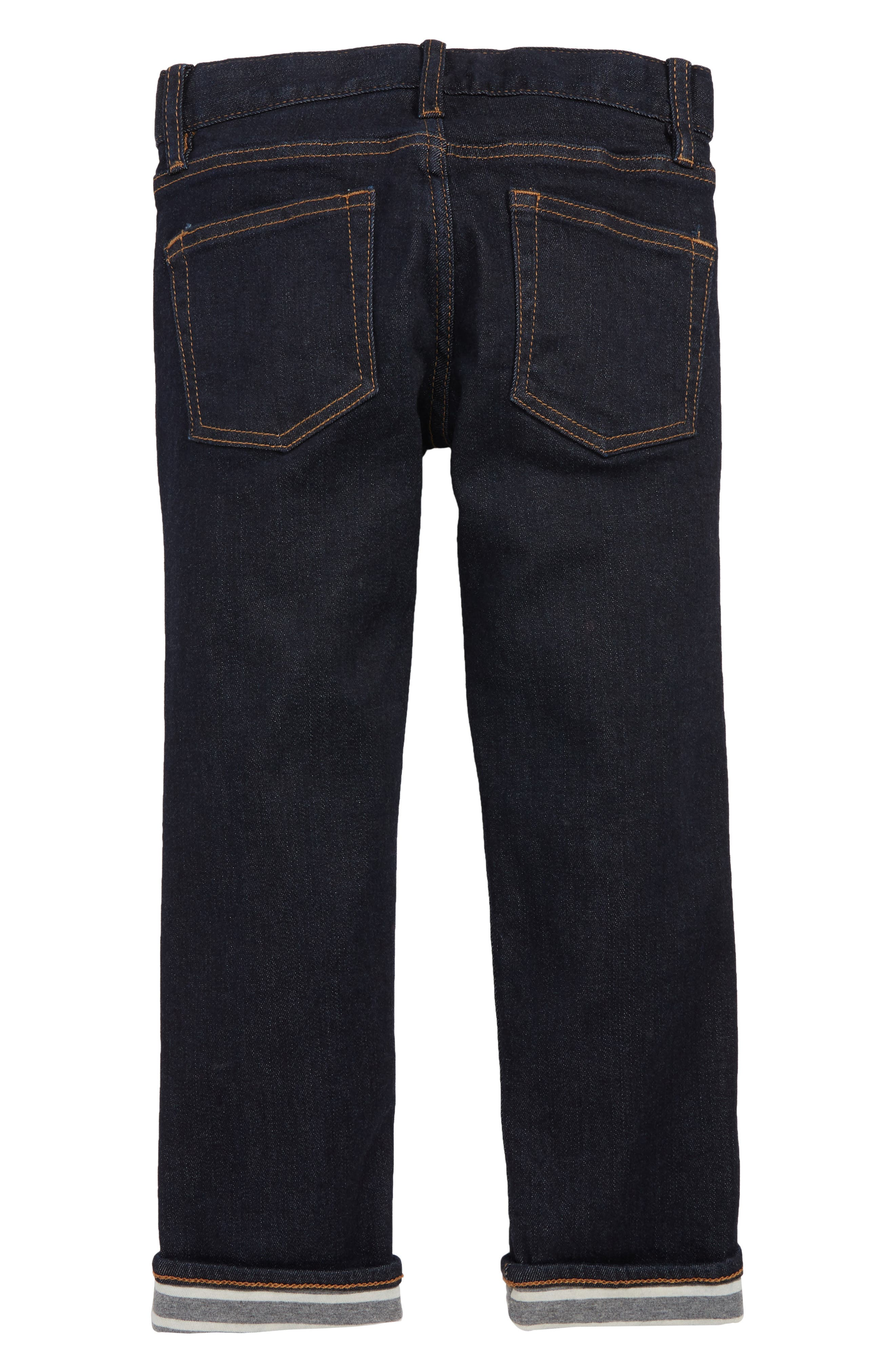 Runaround Slim Fit Lined Jeans,                             Alternate thumbnail 2, color,                             SKINNY RINSE