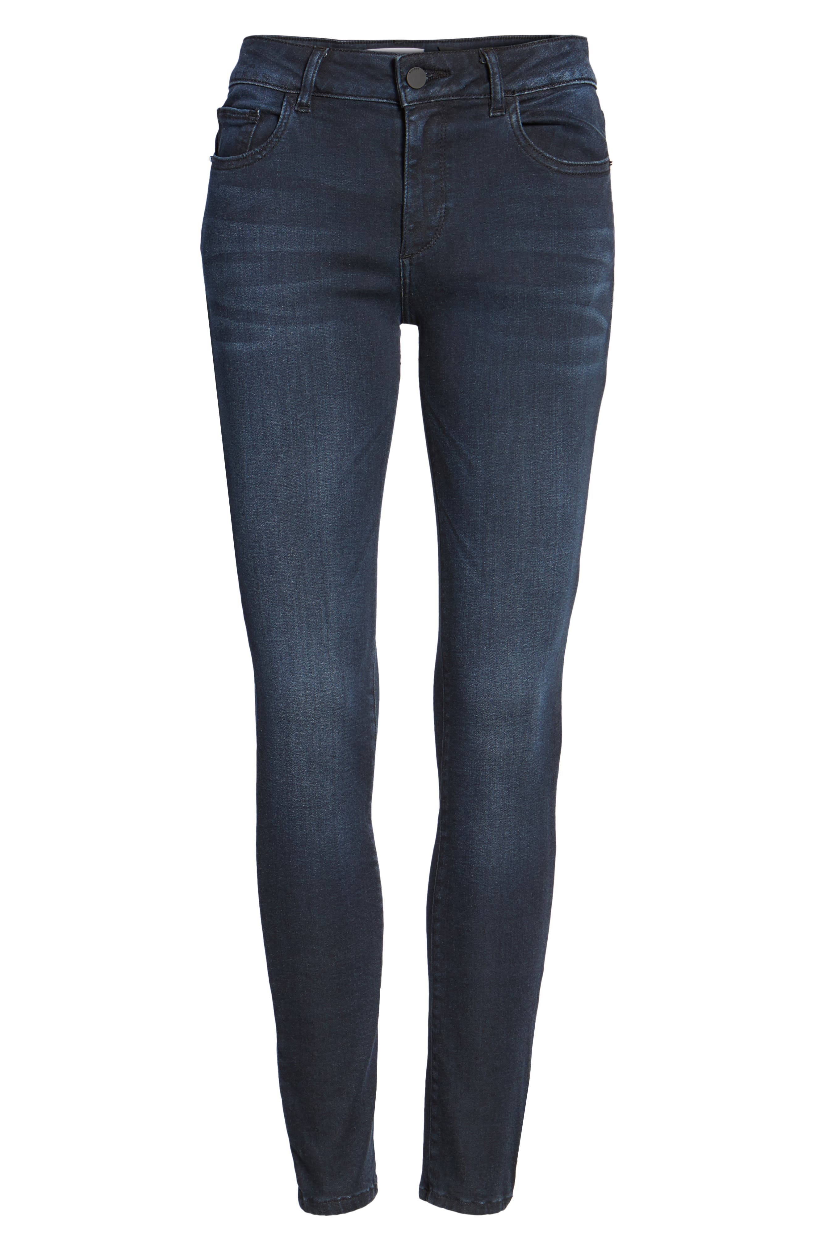 DL1961,                             Emma Power Legging Skinny Jeans,                             Alternate thumbnail 6, color,                             405