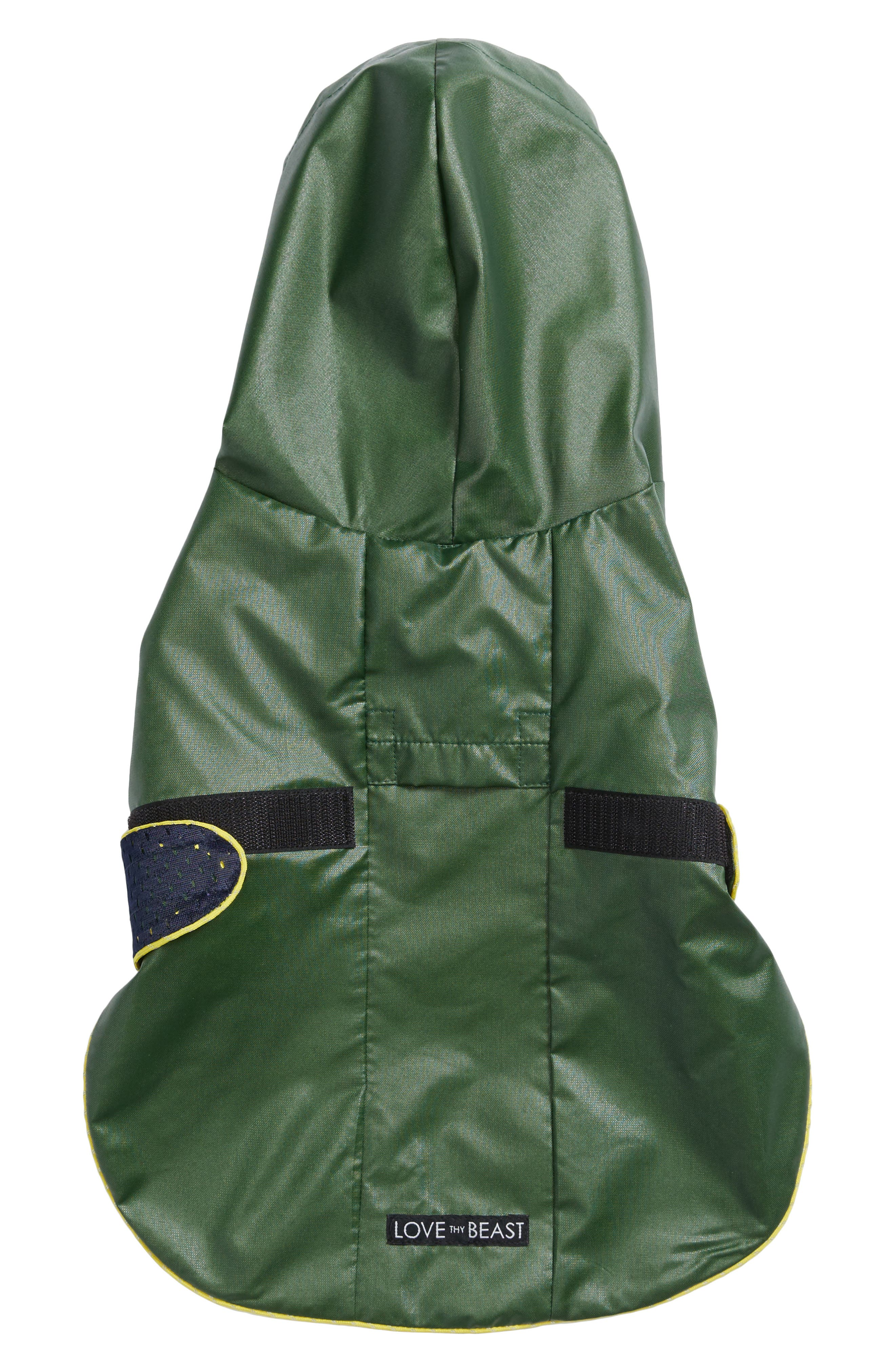 Dog Rain Jacket with Mesh Lining,                             Alternate thumbnail 2, color,                             300