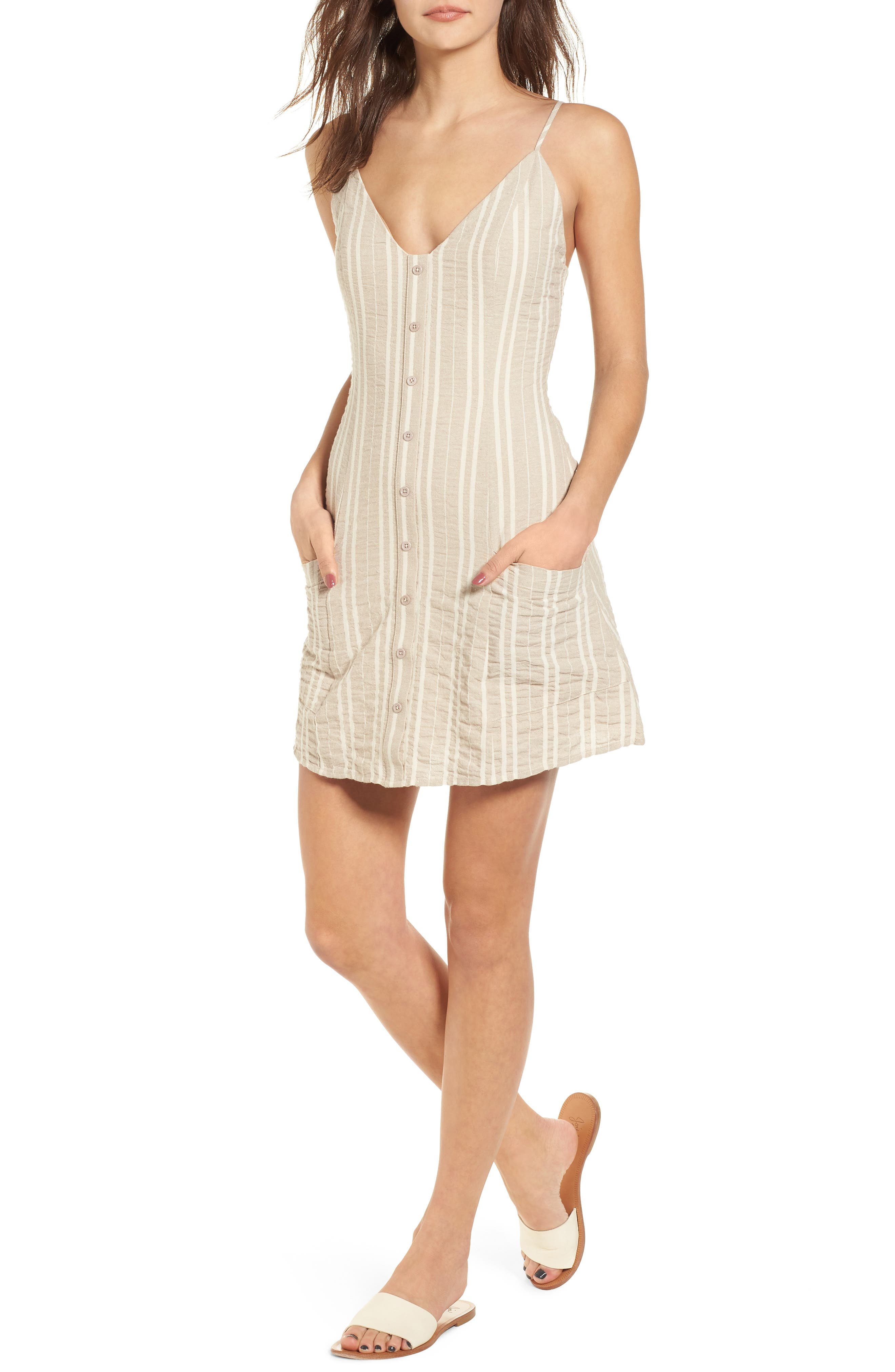 Stella Stripe Dress,                             Main thumbnail 1, color,                             901