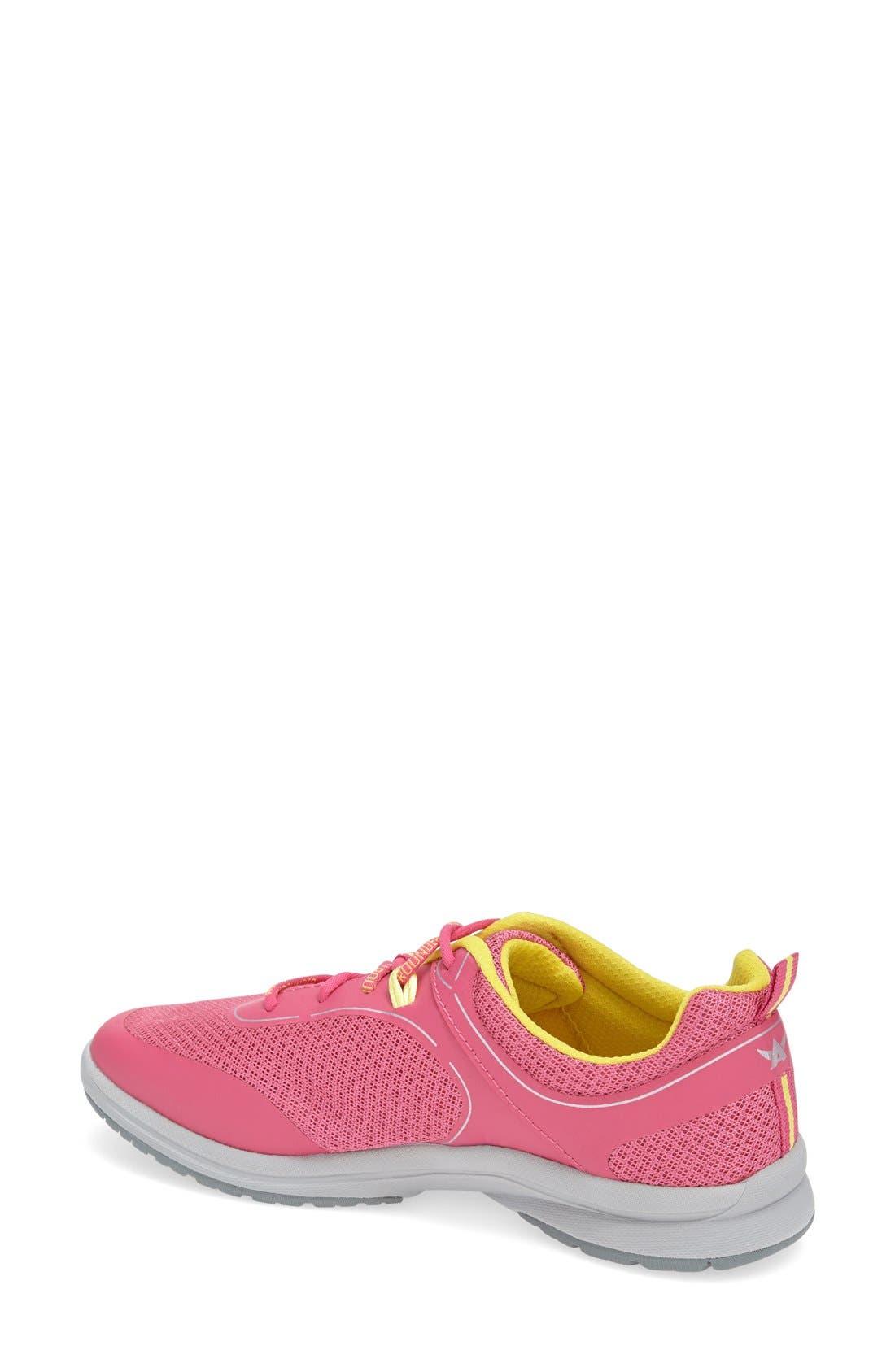 'Dakona' Sneaker,                             Alternate thumbnail 2, color,                             RASPBERRY