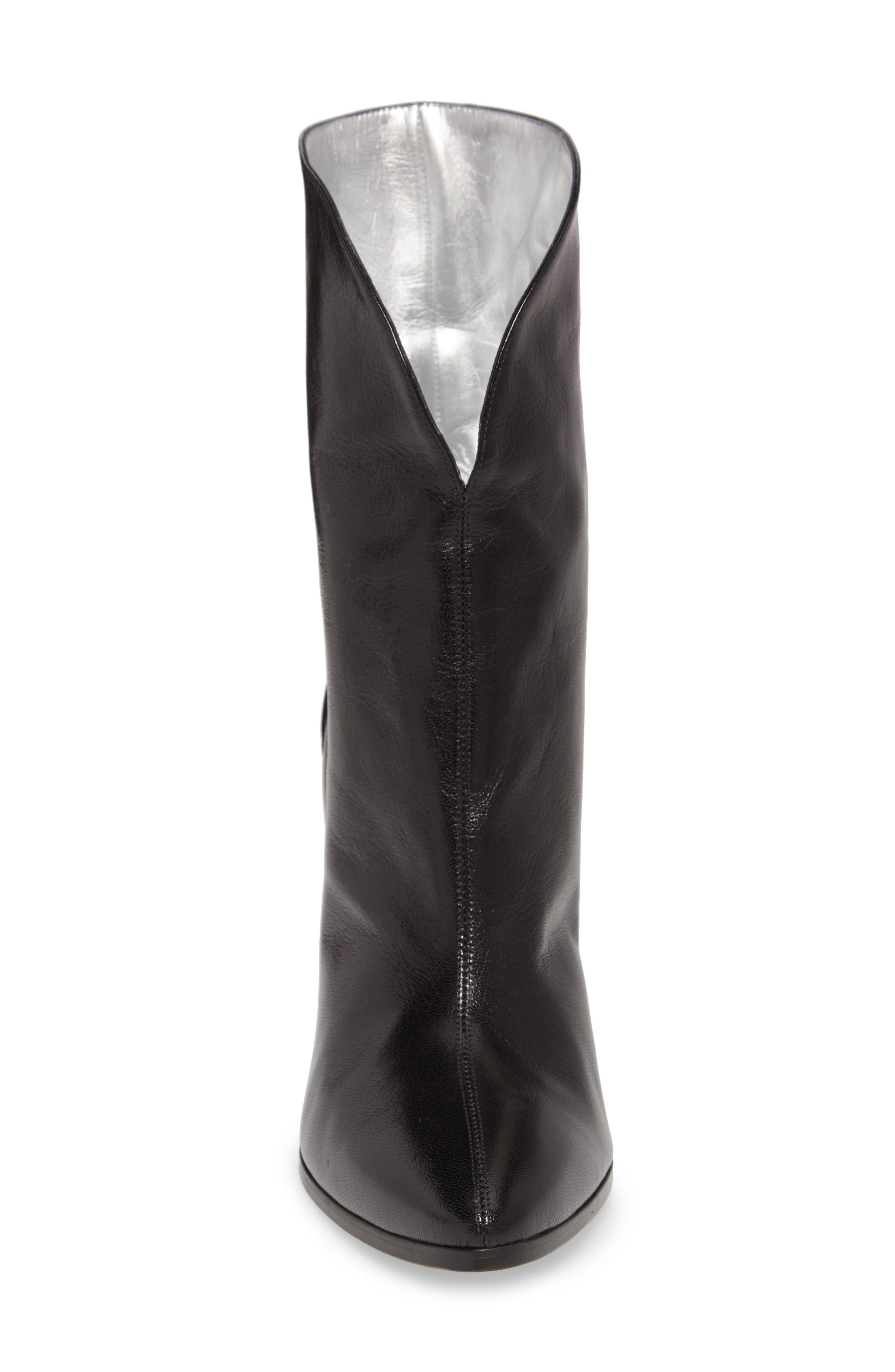 GV3 Mid High Boot,                             Alternate thumbnail 4, color,                             BLACK