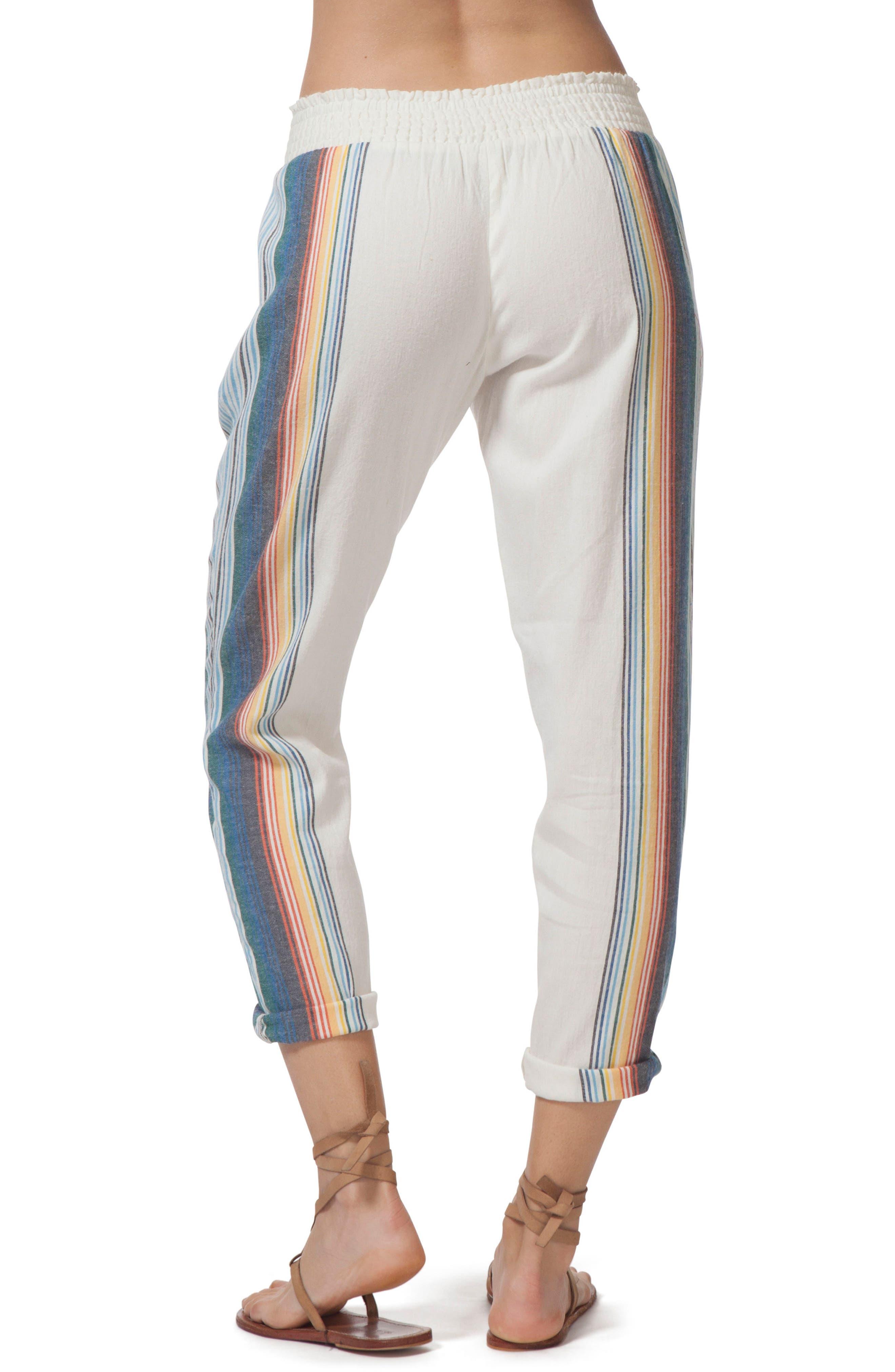 Beach Bazaar Pants,                             Alternate thumbnail 2, color,                             VANILLA