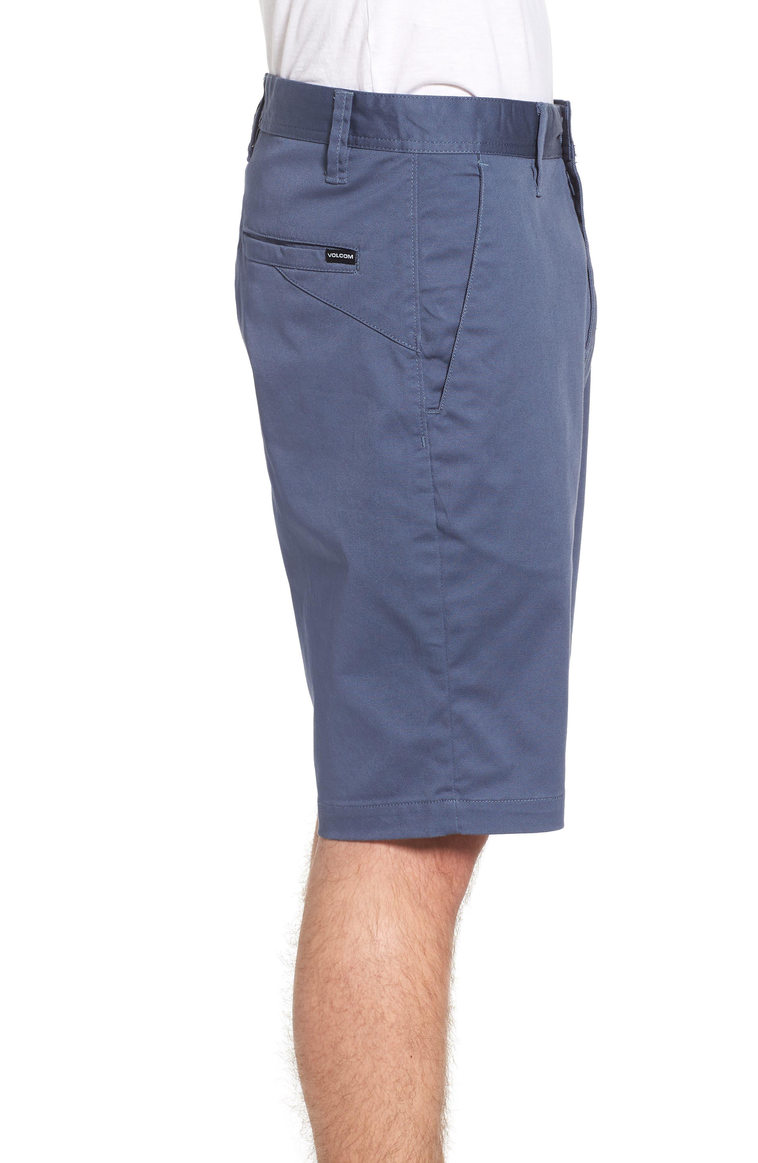 'Modern' Stretch Chino Shorts,                             Alternate thumbnail 24, color,