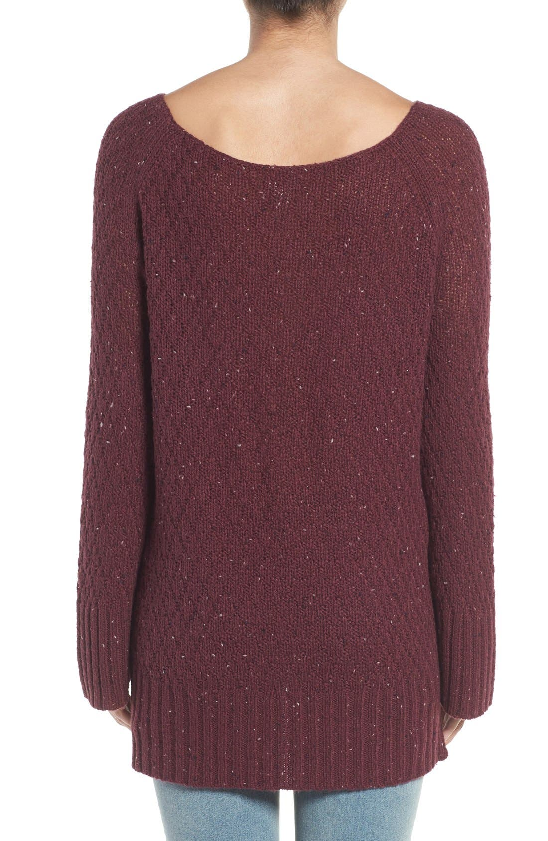 Slouchy Tunic Sweater,                             Alternate thumbnail 20, color,