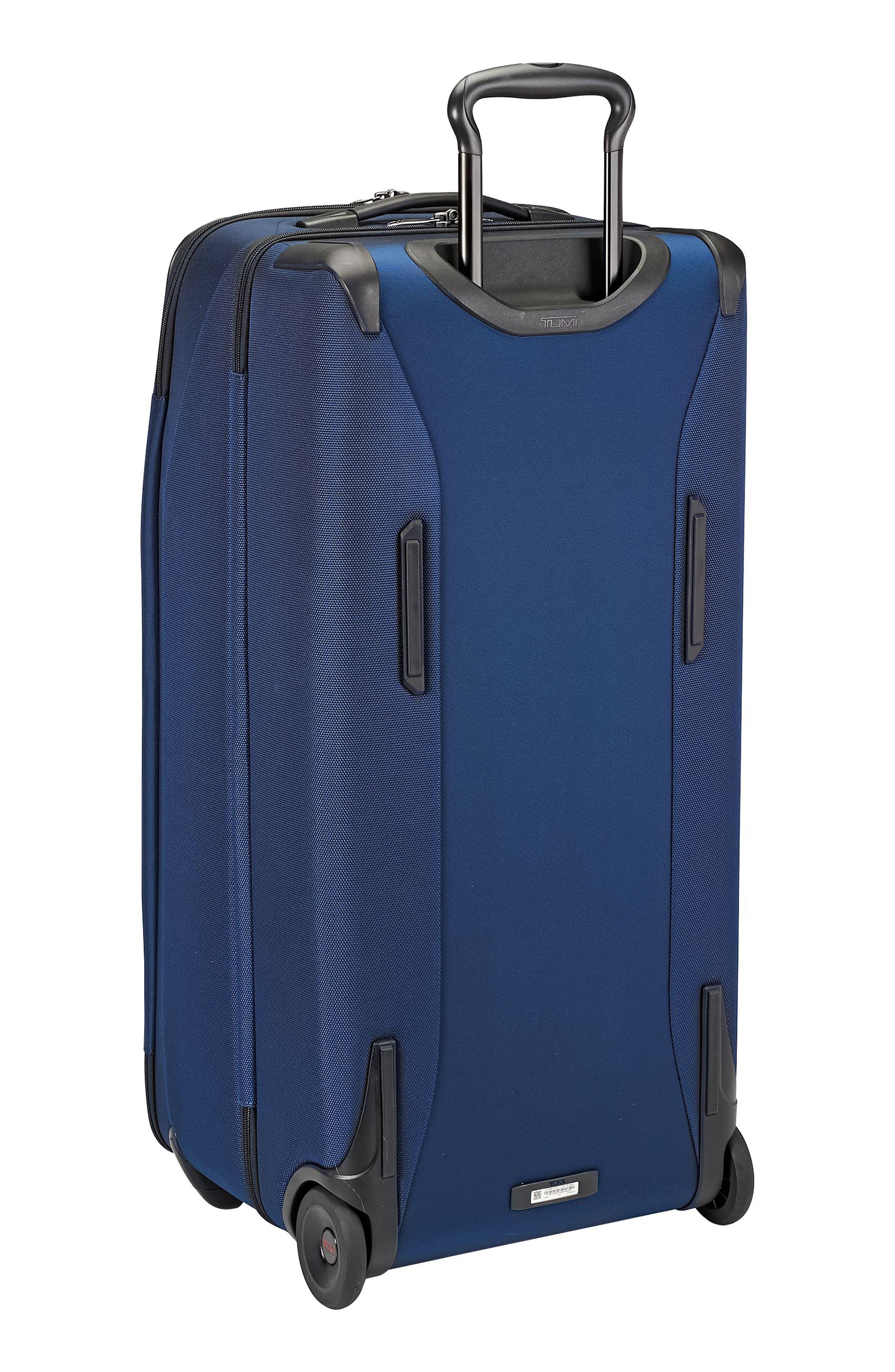 Merge - Rolling Duffel Bag,                             Alternate thumbnail 4, color,                             OCEAN BLUE