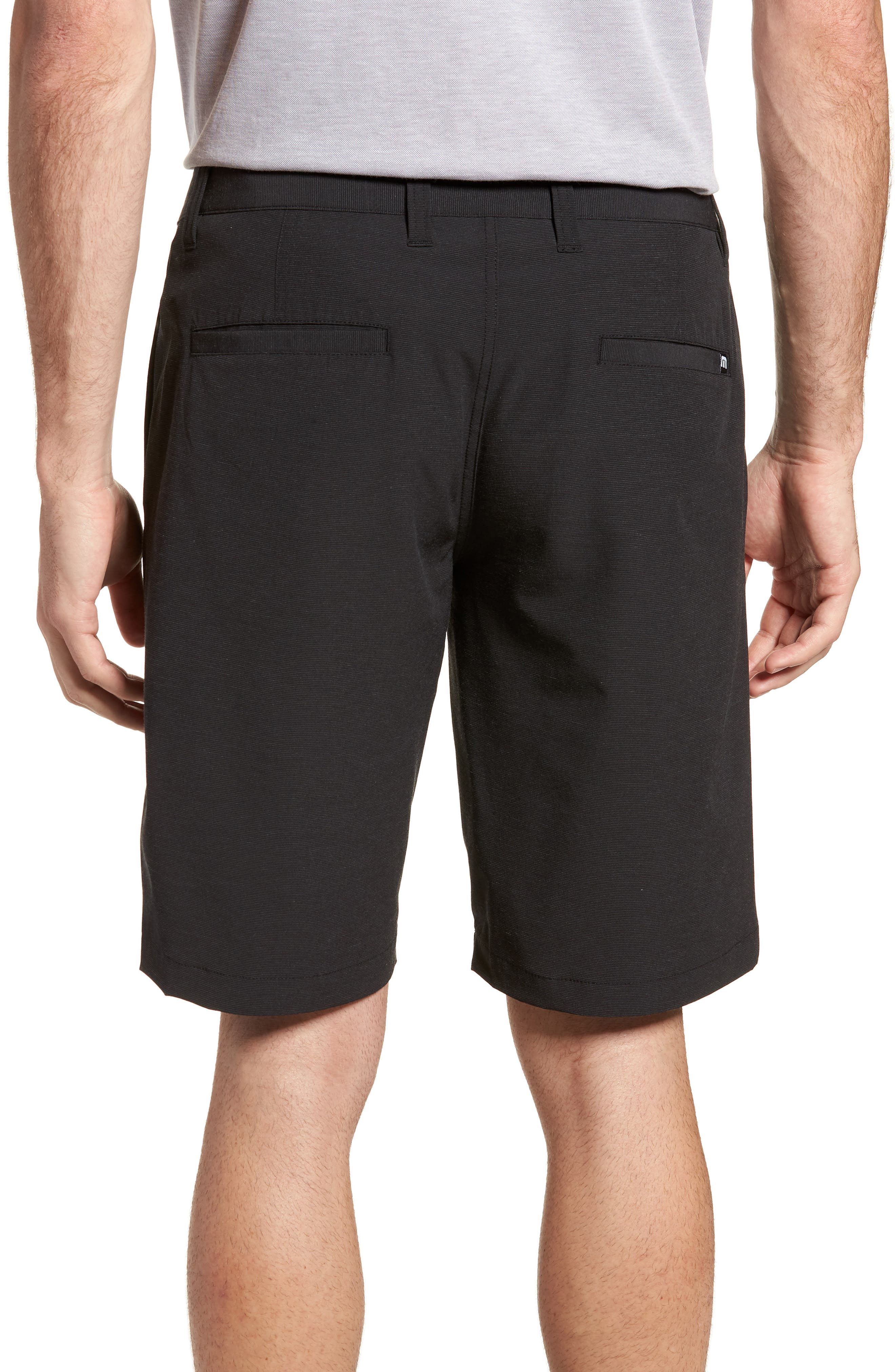 Beck Stretch Performance Shorts,                             Alternate thumbnail 2, color,                             BLACK