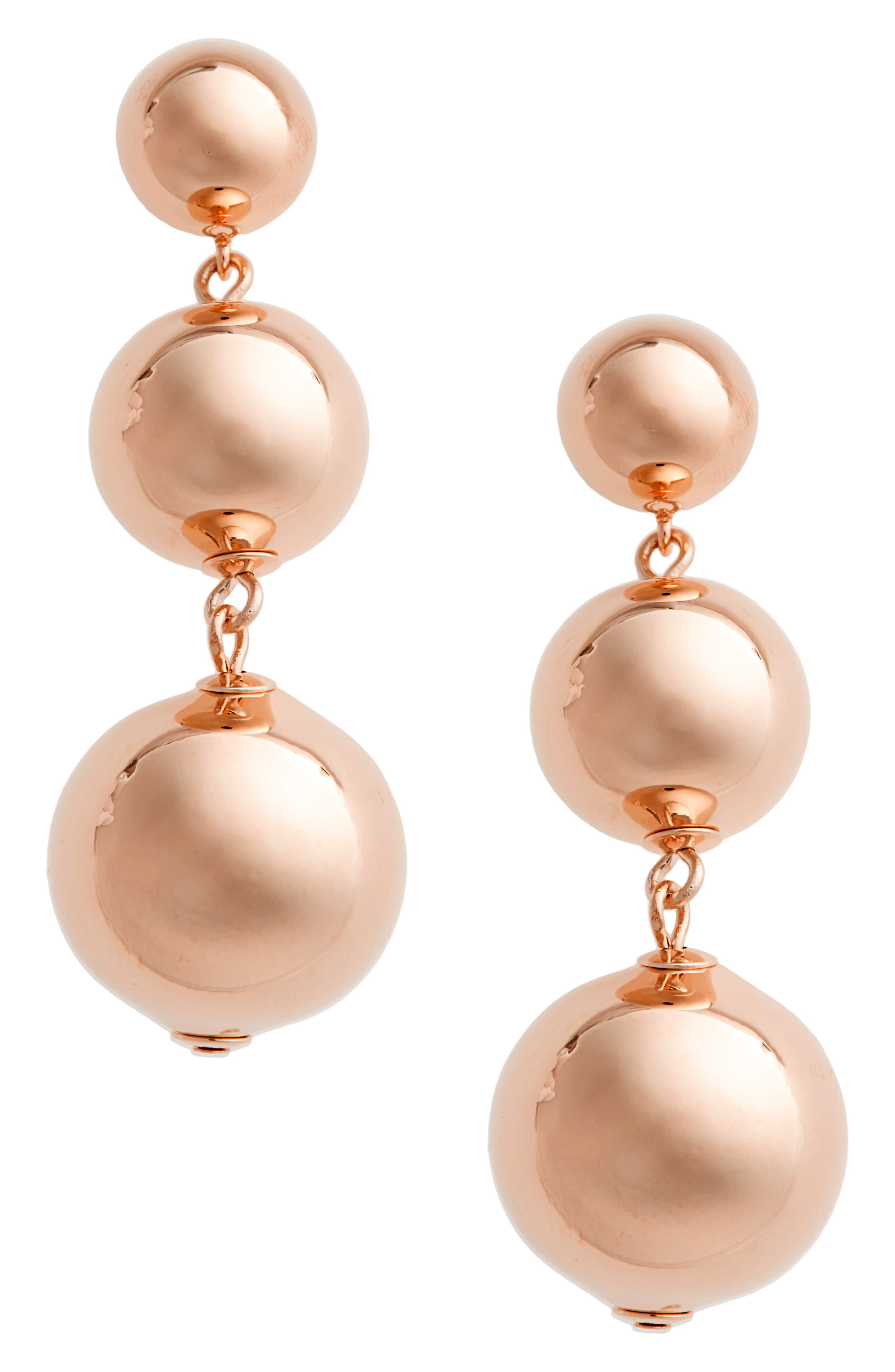 golden girl bauble drop earrings,                             Main thumbnail 7, color,