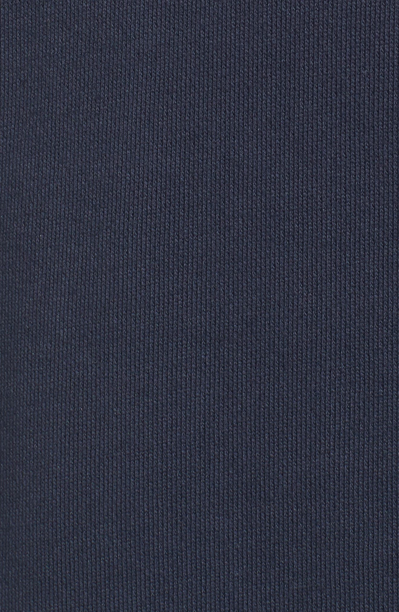 Shep Half Zip French Terry Pullover,                             Alternate thumbnail 5, color,                             VINEYARD NAVY