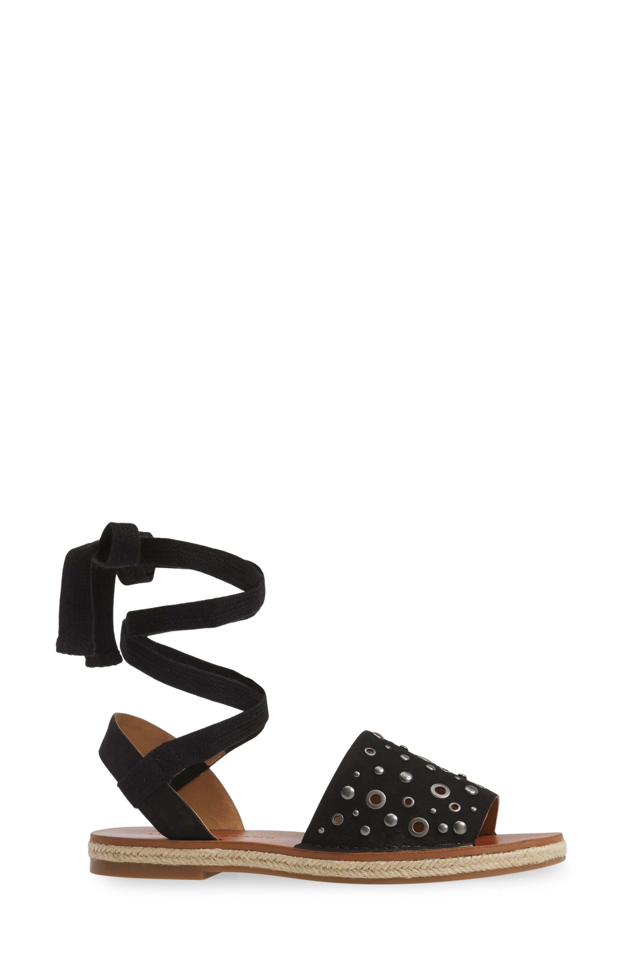 Daytah Ankle Tie Sandal,                             Alternate thumbnail 9, color,