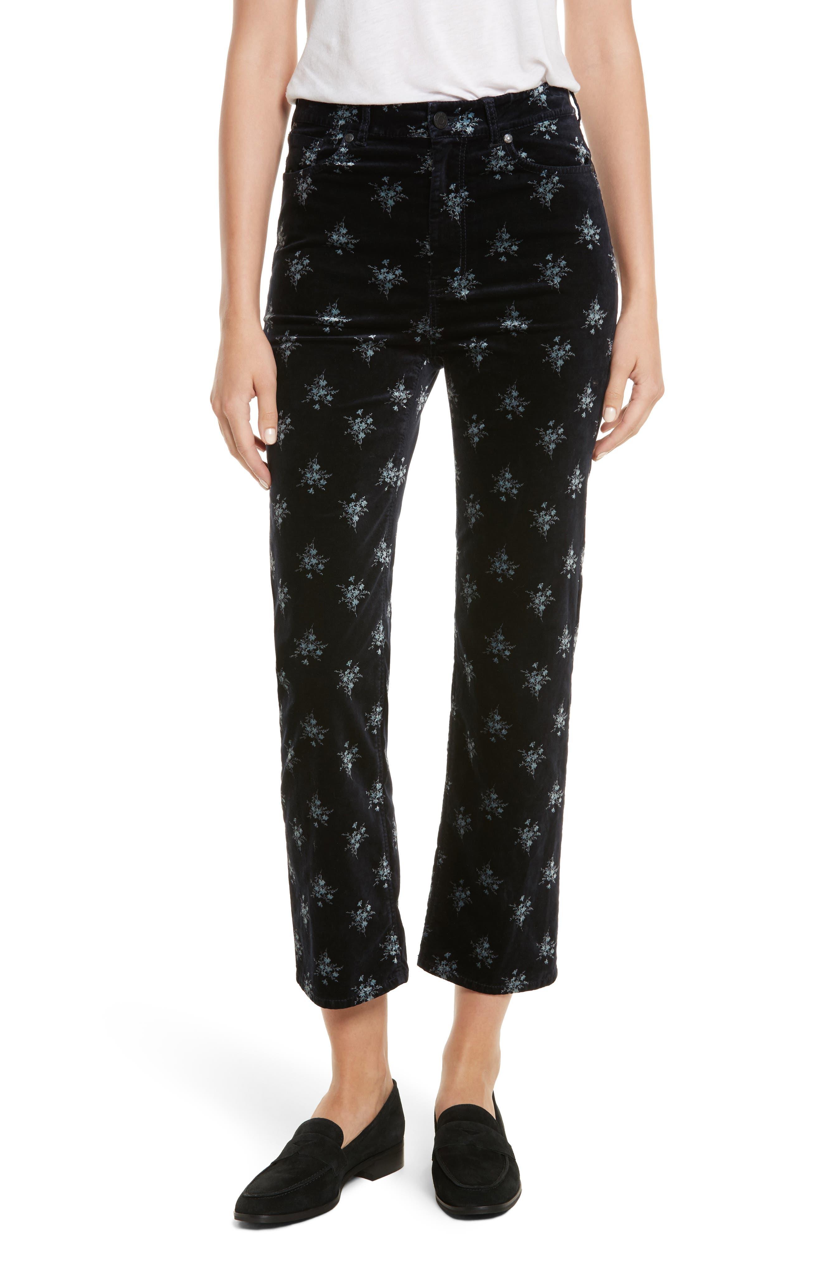 Celeste Velvet Pants,                         Main,                         color, 482