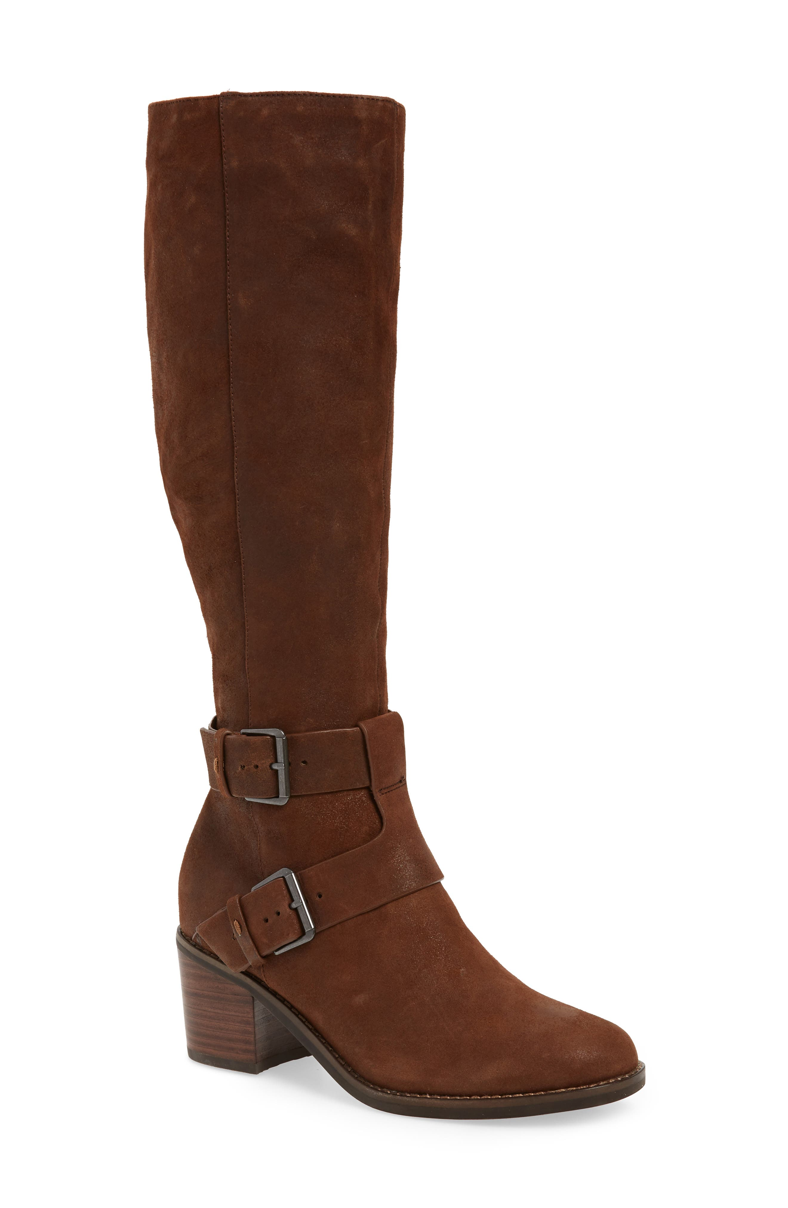 Gentle Souls By Kenneth Cole Verona Knee-High Riding Boot, Brown
