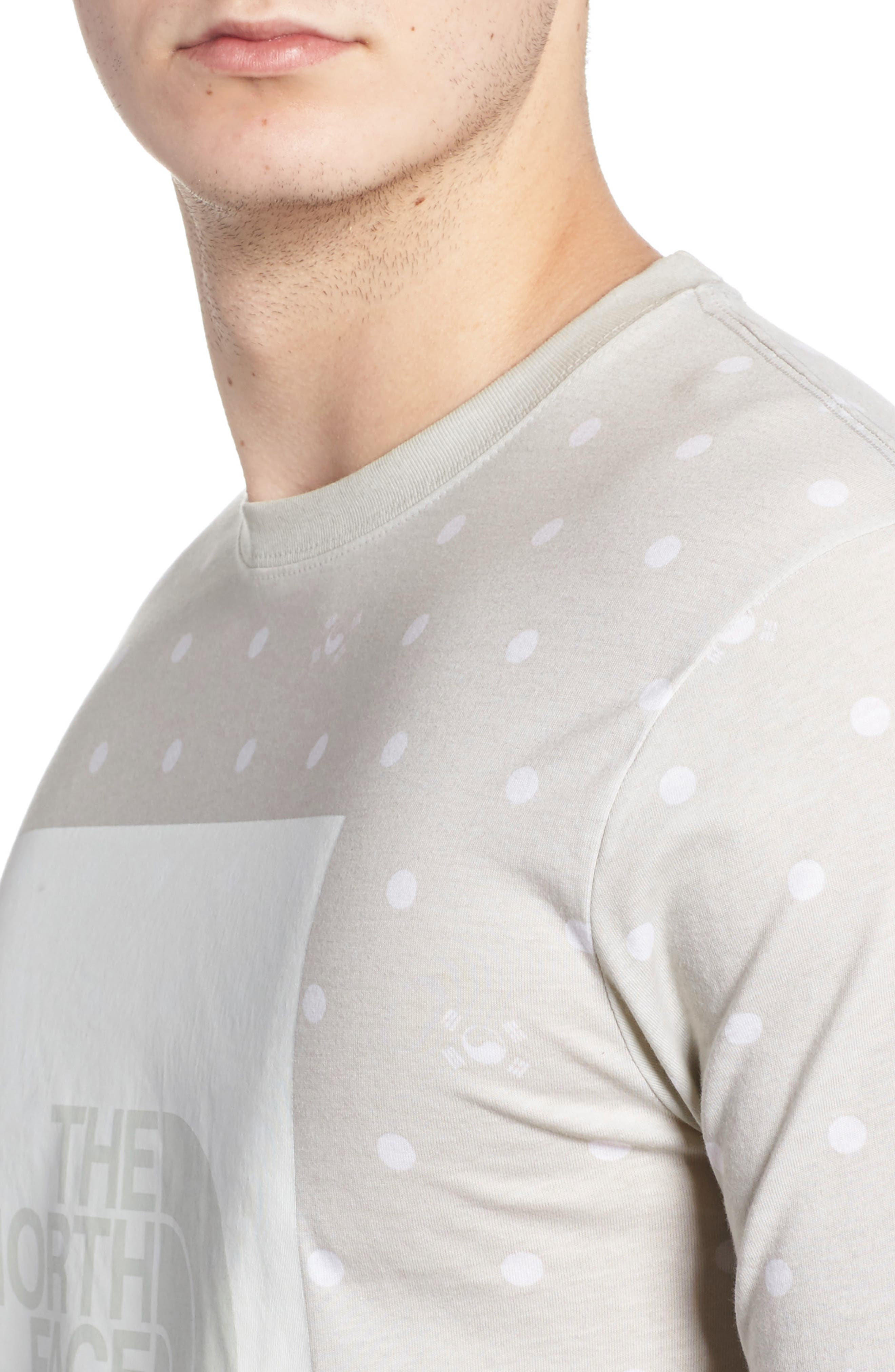 International Collection Star Print T-Shirt,                             Alternate thumbnail 4, color,                             030