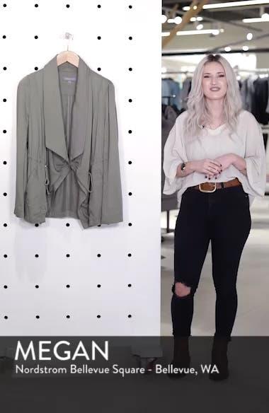 Drape Jacket, sales video thumbnail