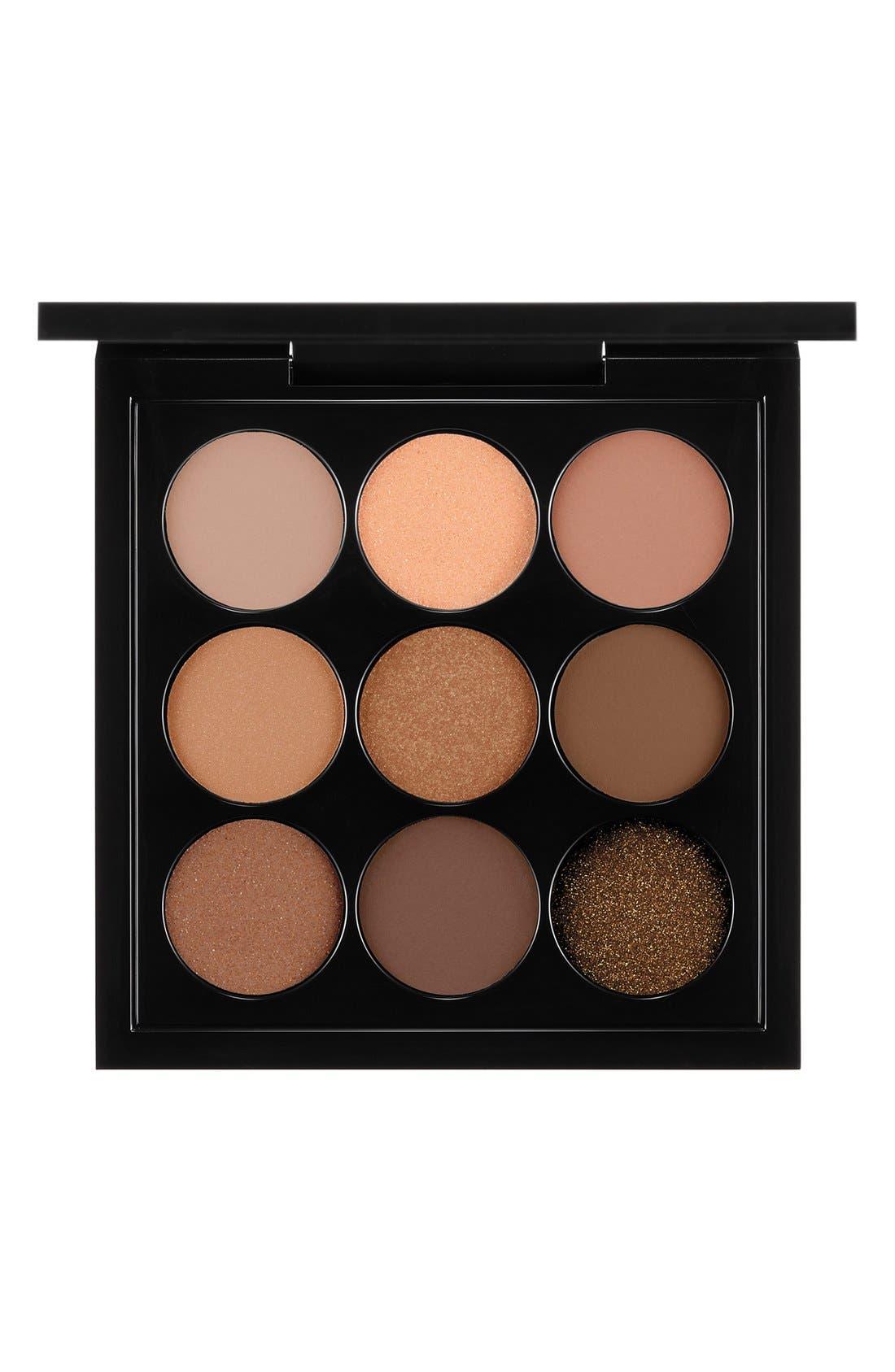 MAC Solar Glow Times Nine Eyeshadow Palette,                             Main thumbnail 2, color,