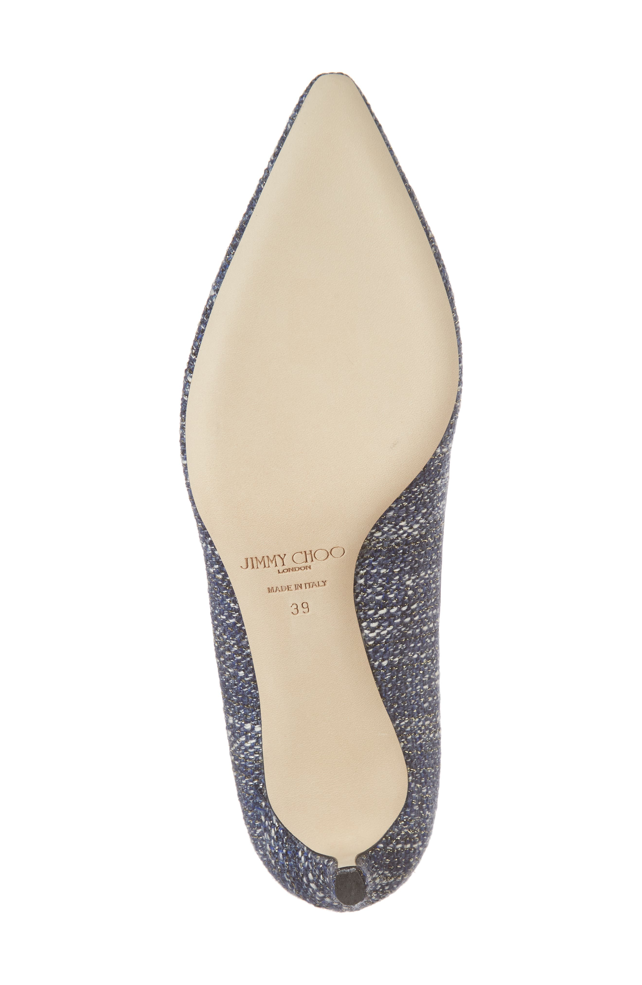 Romy Woven Pointy Toe Pump,                             Alternate thumbnail 6, color,                             410