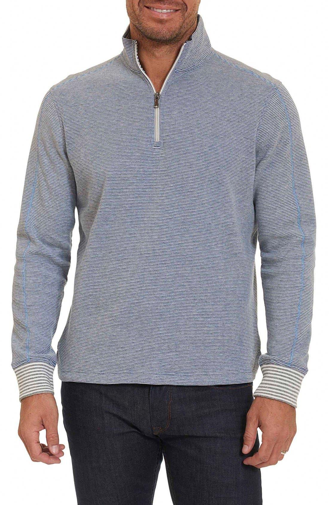 Poole Regular Fit Quarter Zip Pullover,                         Main,                         color, 020