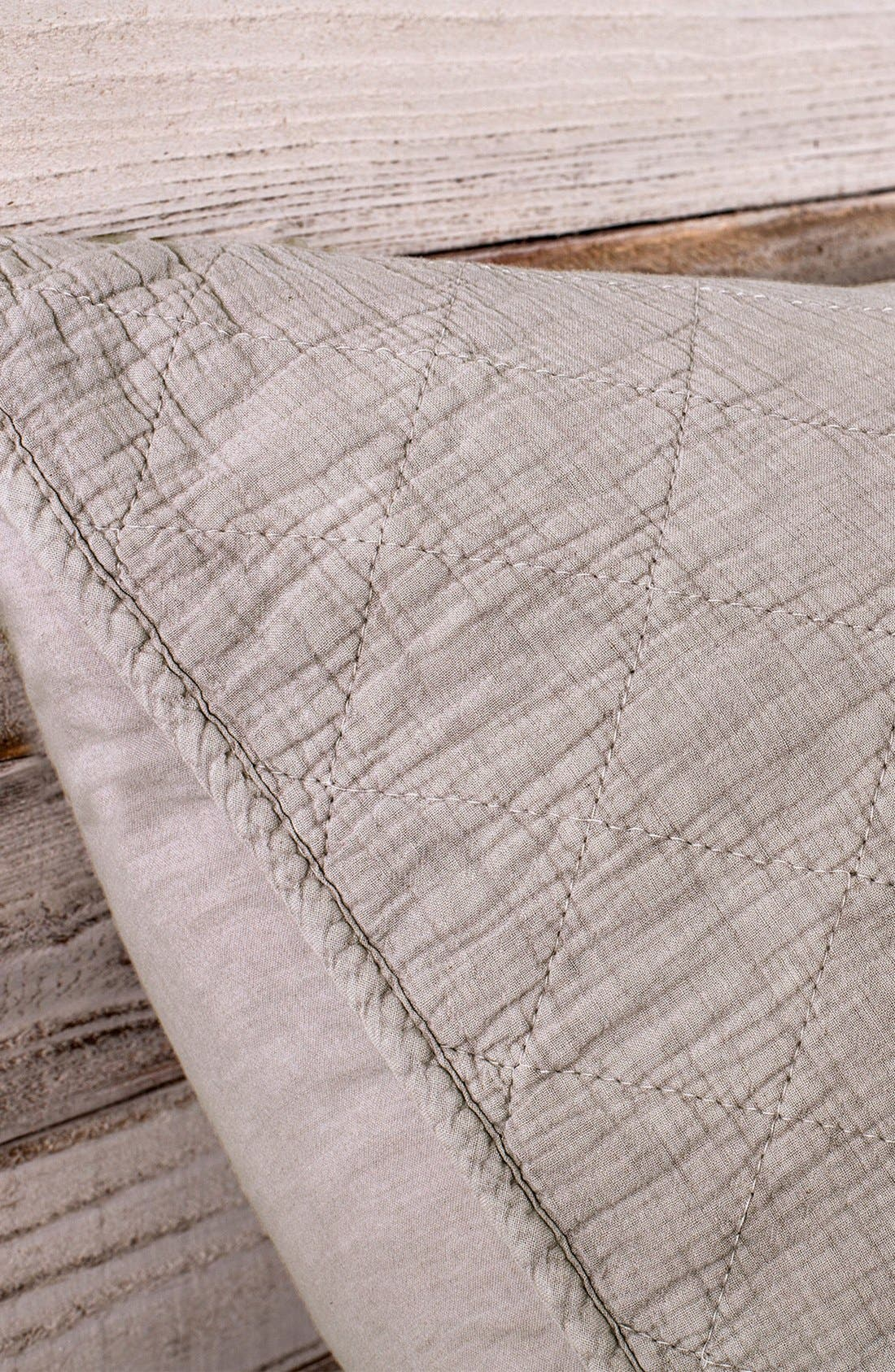 'Huntington' Coverlet,                             Alternate thumbnail 2, color,                             TAUPE