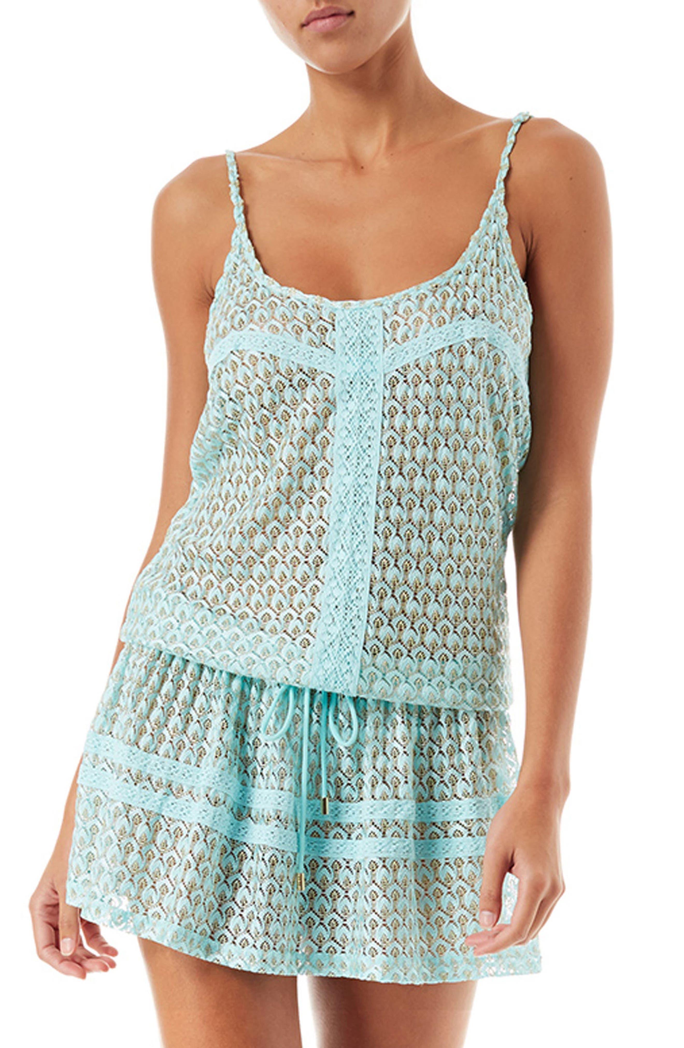 Khloe Cover-Up Dress,                         Main,                         color, CELESTE KNIT