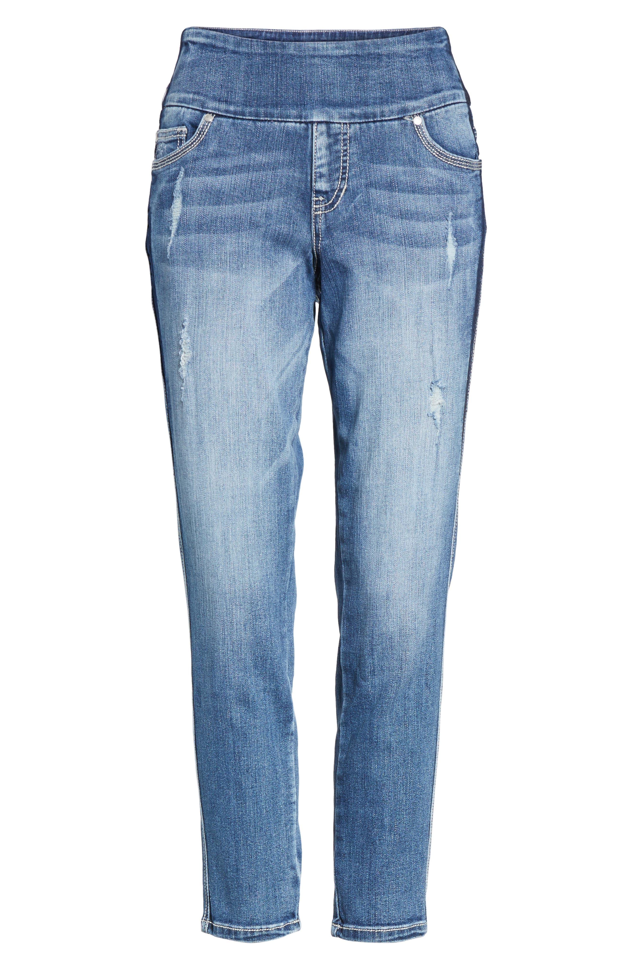 Nora Marta Stretch Skinny Jeans,                             Alternate thumbnail 6, color,                             420