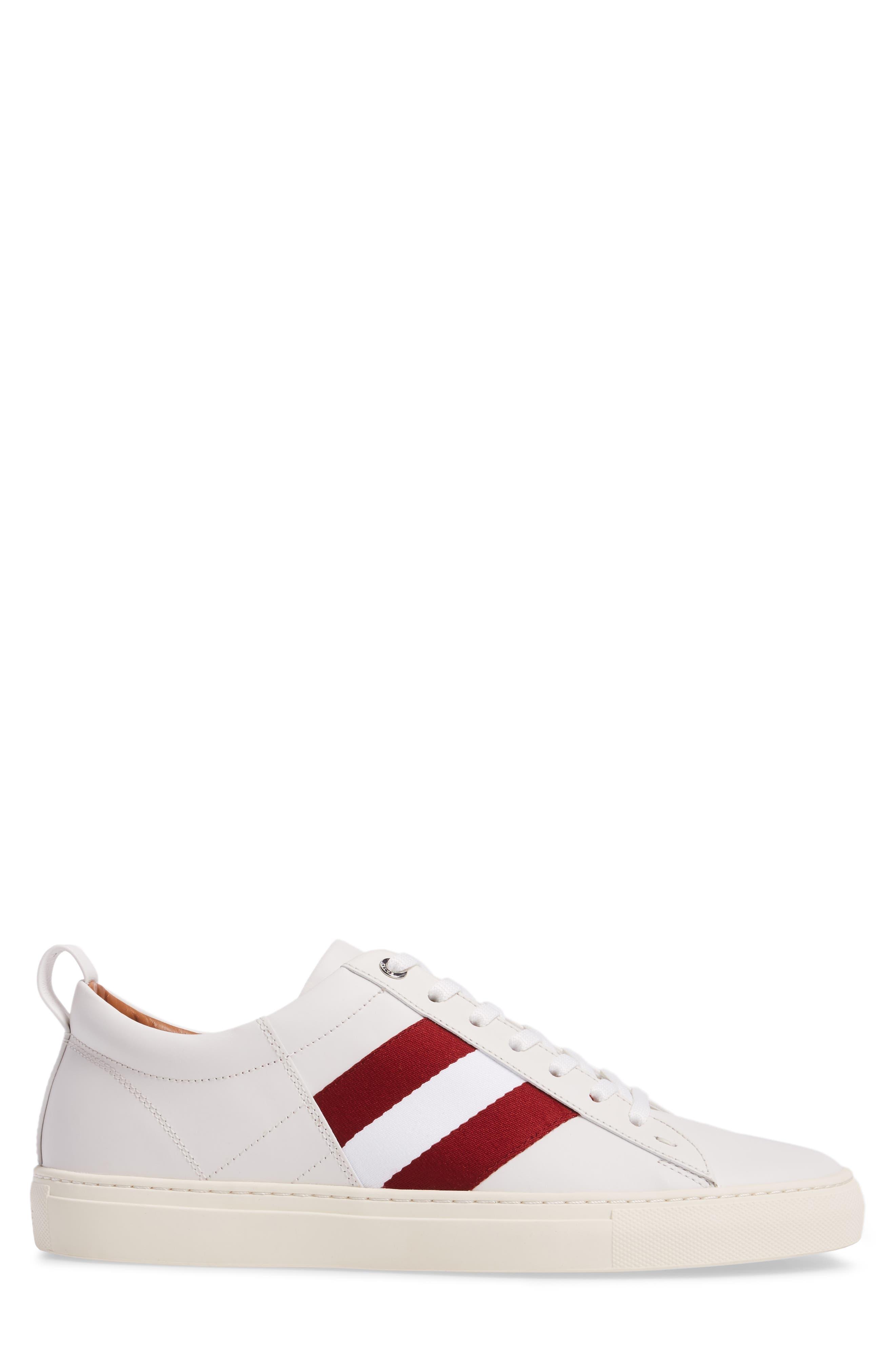 'Helvio' Sneaker,                             Alternate thumbnail 3, color,                             WHITE