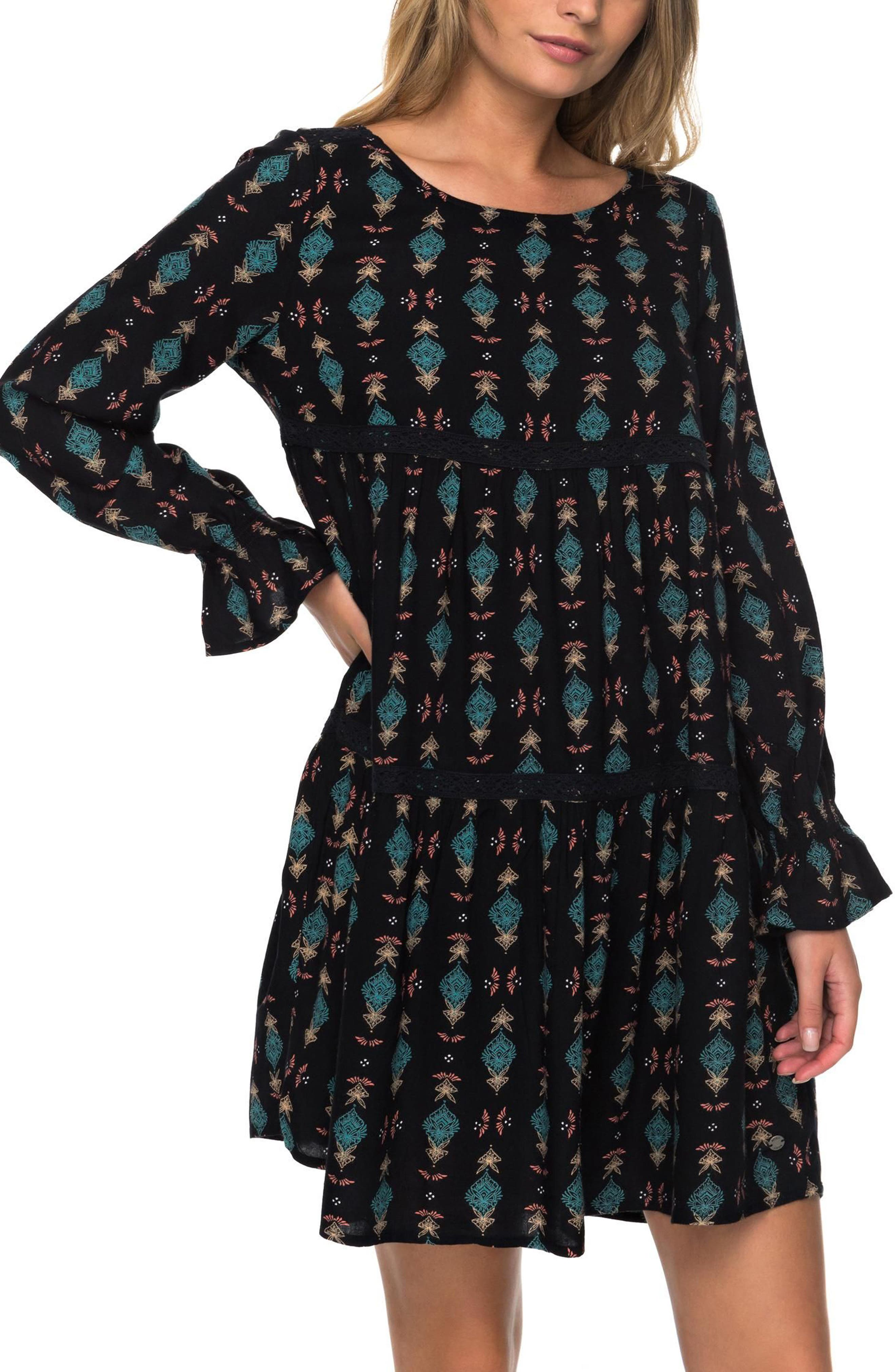 Sweetness Seas Tiered Dress,                             Alternate thumbnail 7, color,