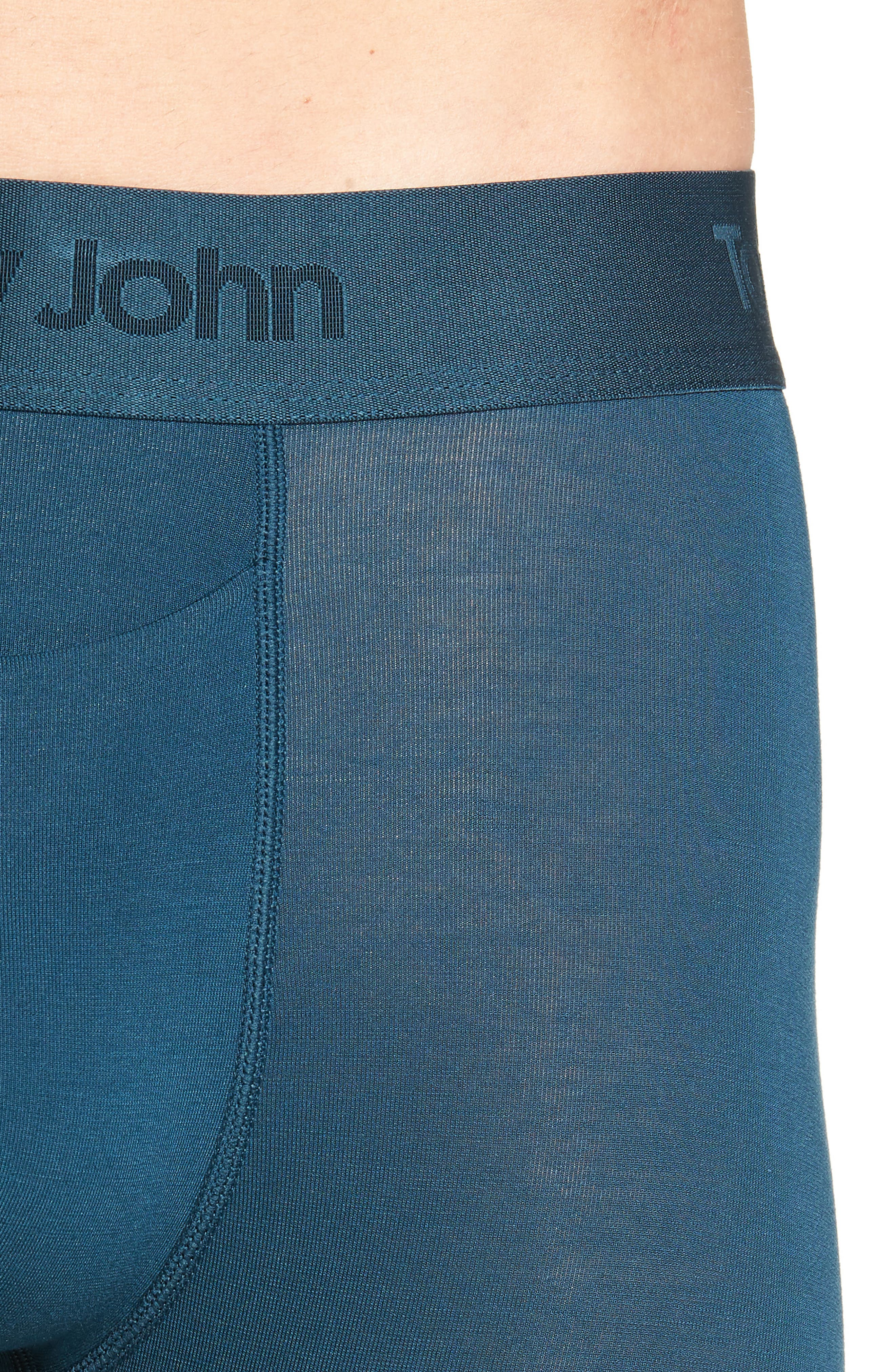Second Skin Boxer Briefs,                             Alternate thumbnail 4, color,                             REFLECTING POND